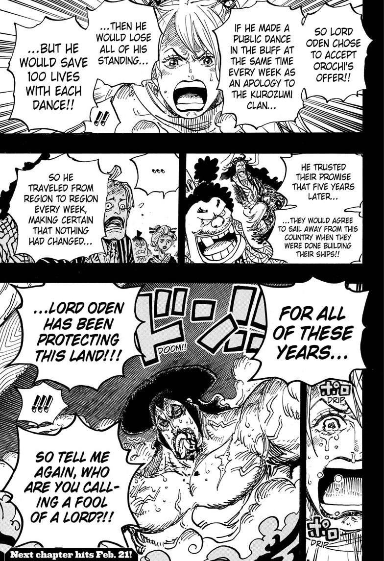 One Piece, Chapter 971 image 016