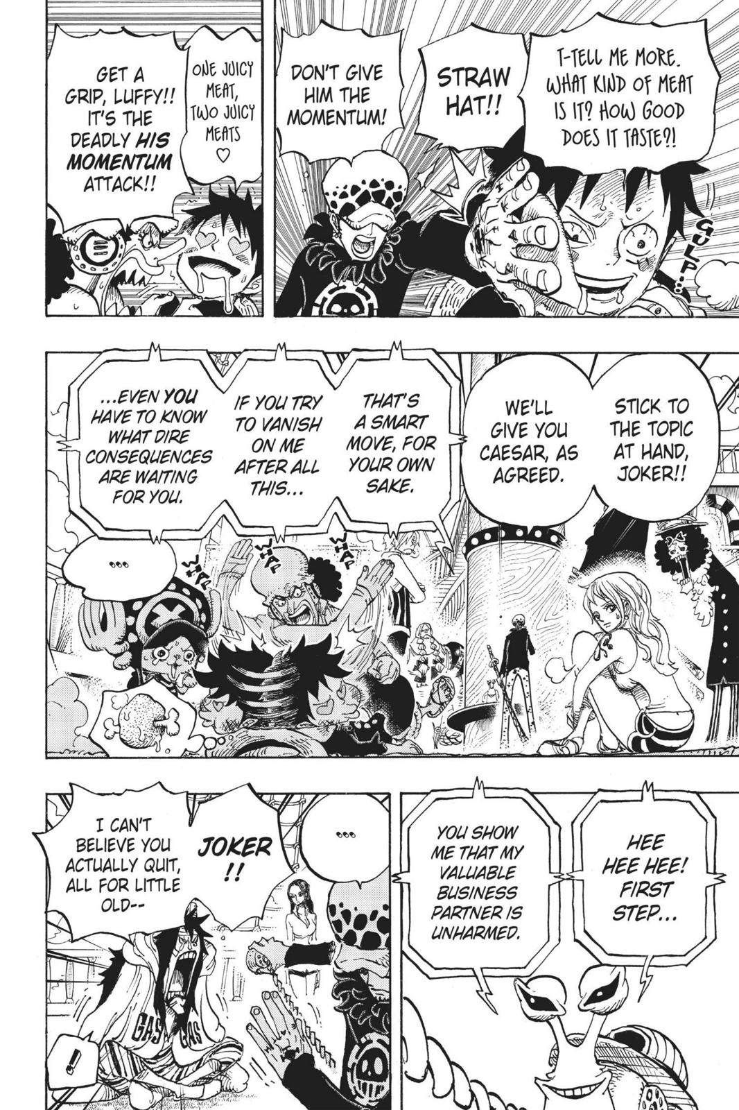 One Piece, Chapter 700 image 006