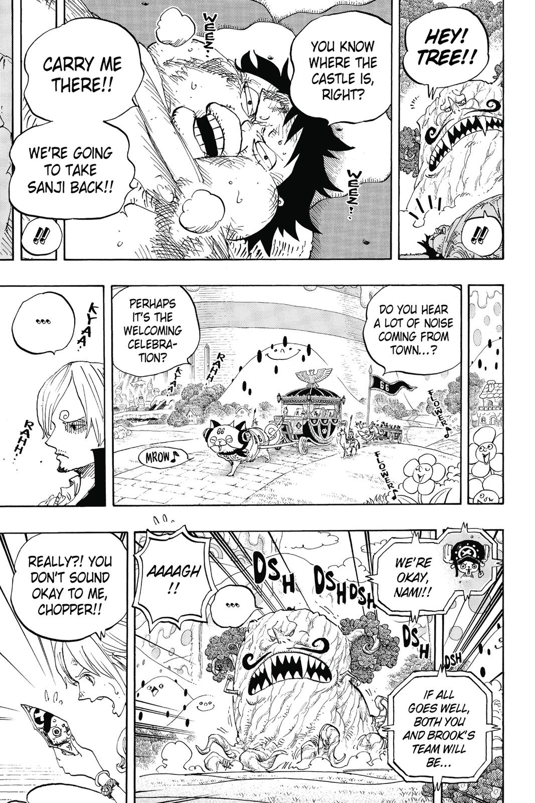 One Piece, Chapter 843 image 010