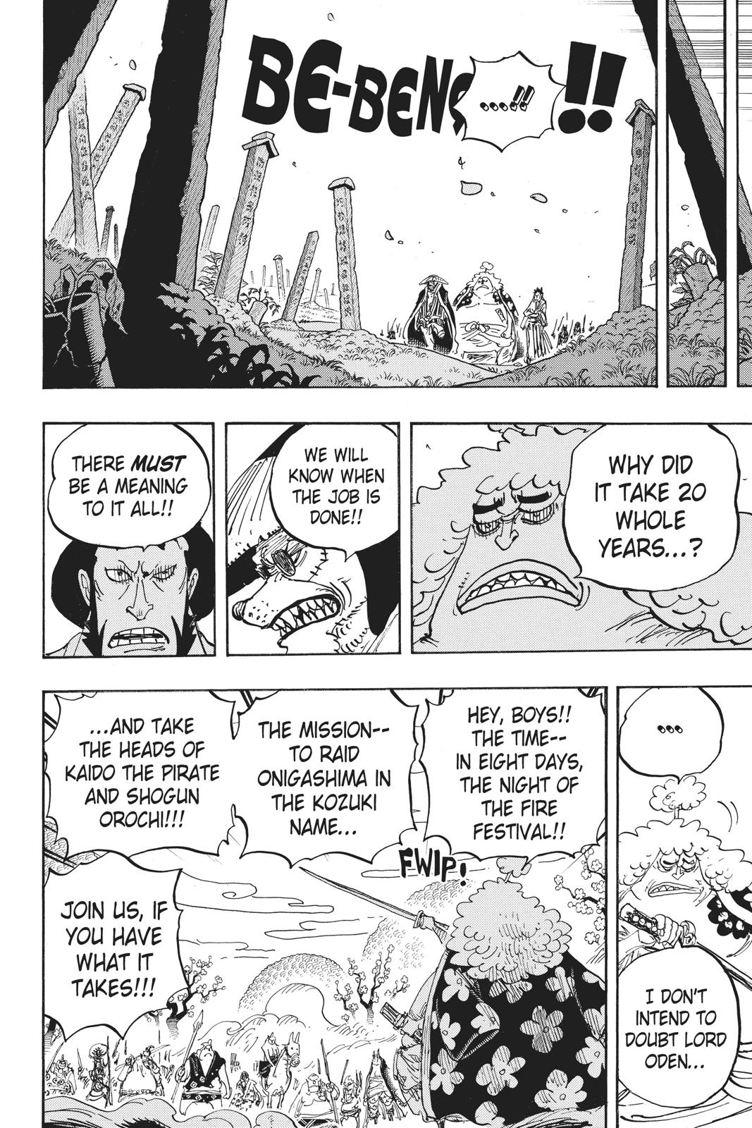 One Piece, Chapter 950 image 010