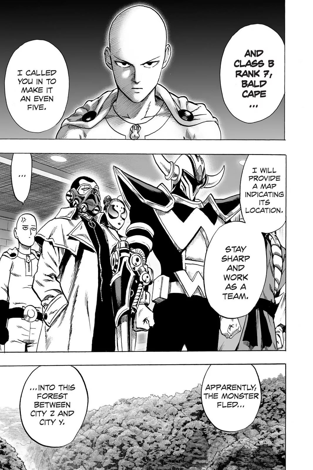 One Punch Man, Chapter Onepunch-Man 61.5 image 008