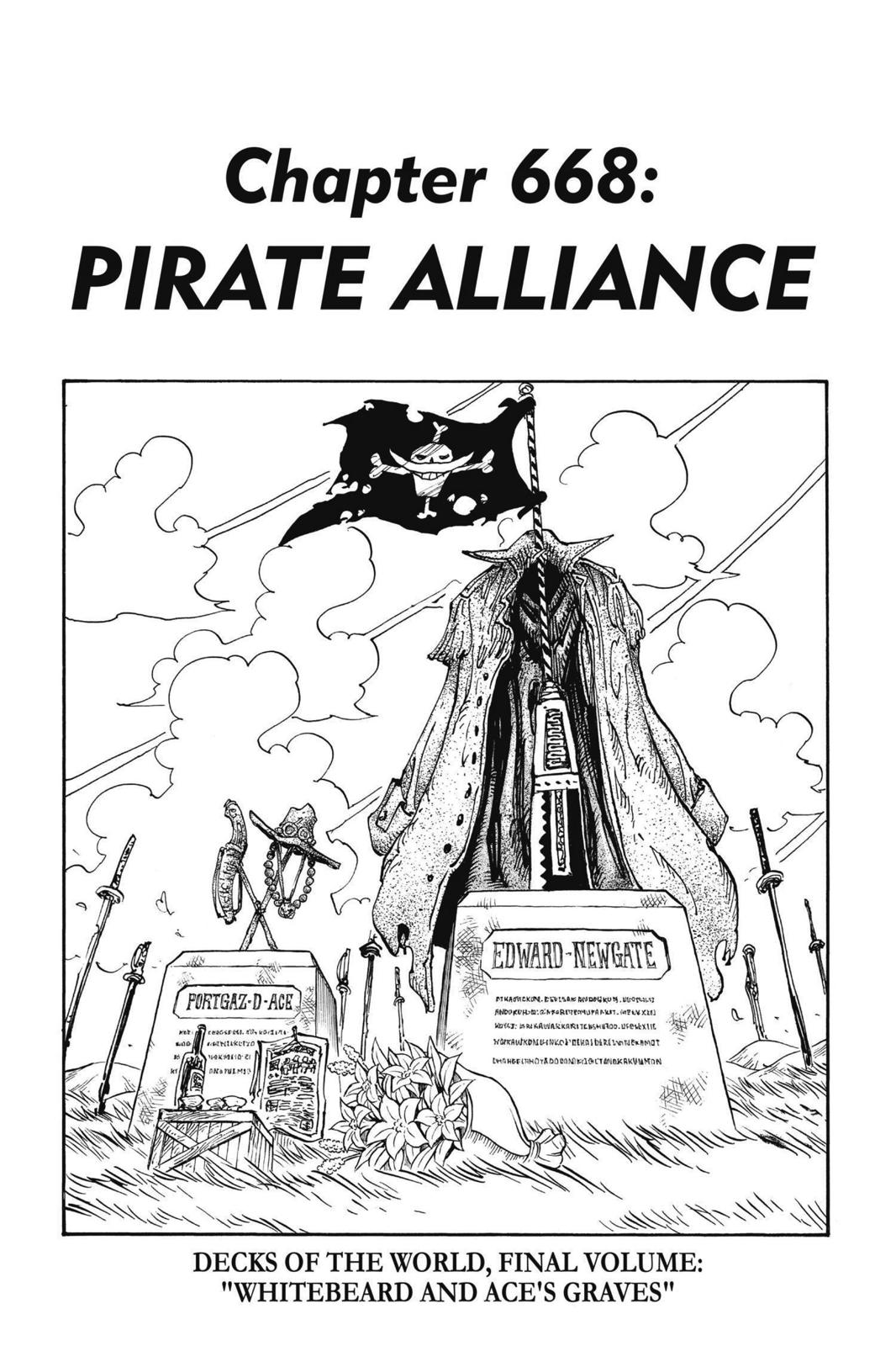 One Piece, Chapter 668 image 009