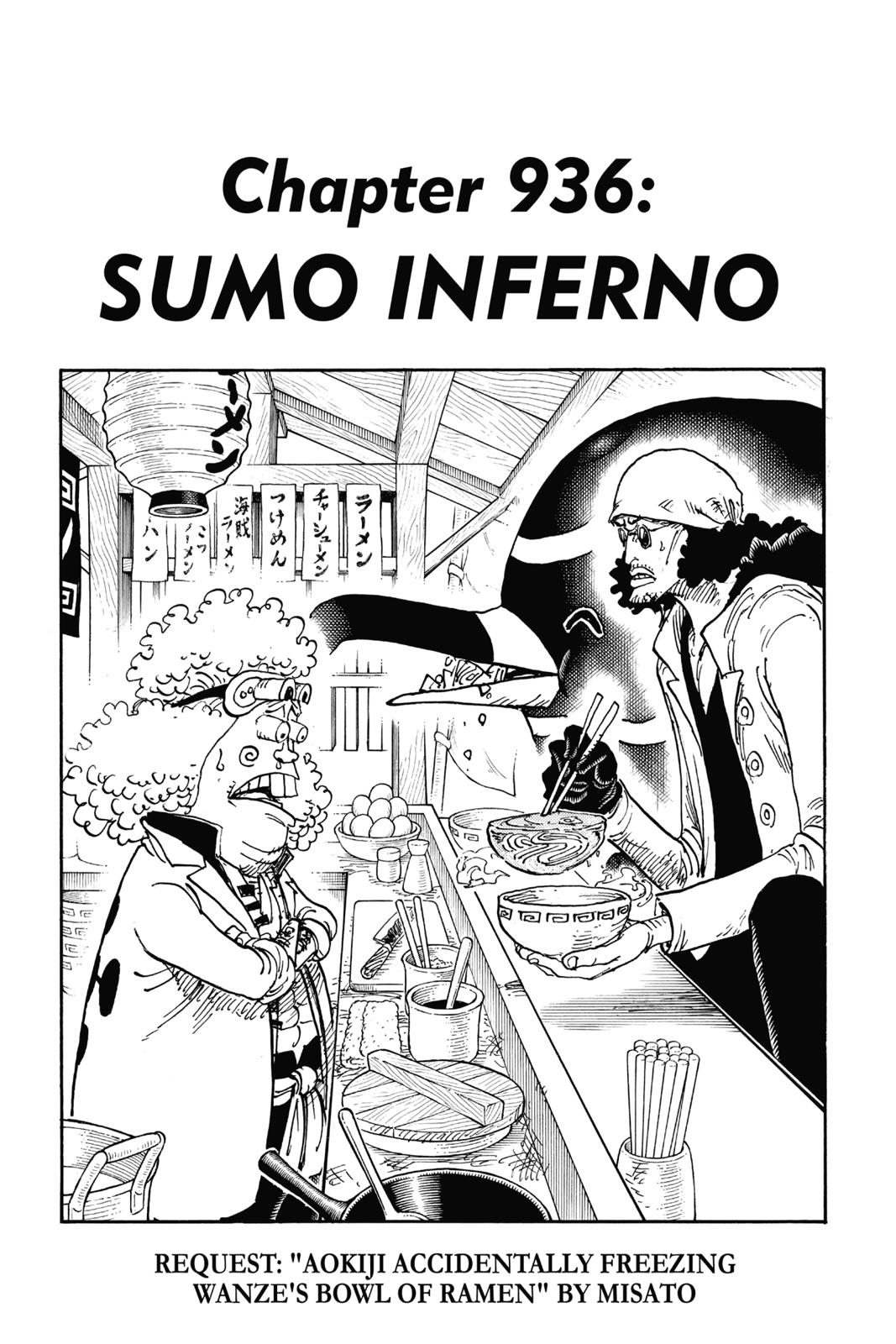 One Piece, Chapter 936 image 001