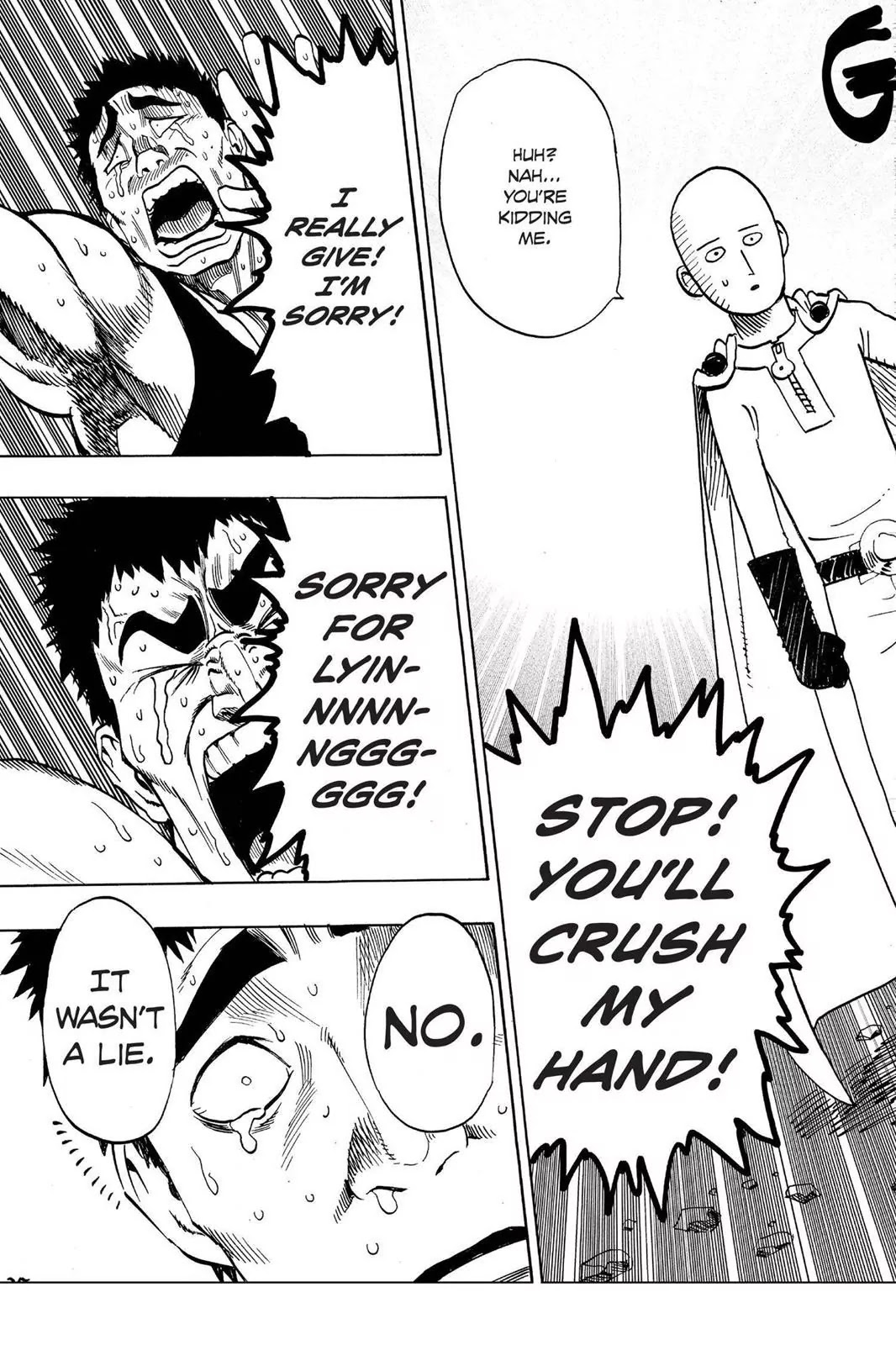 One Punch Man, Chapter Onepunch-Man 22 image 035