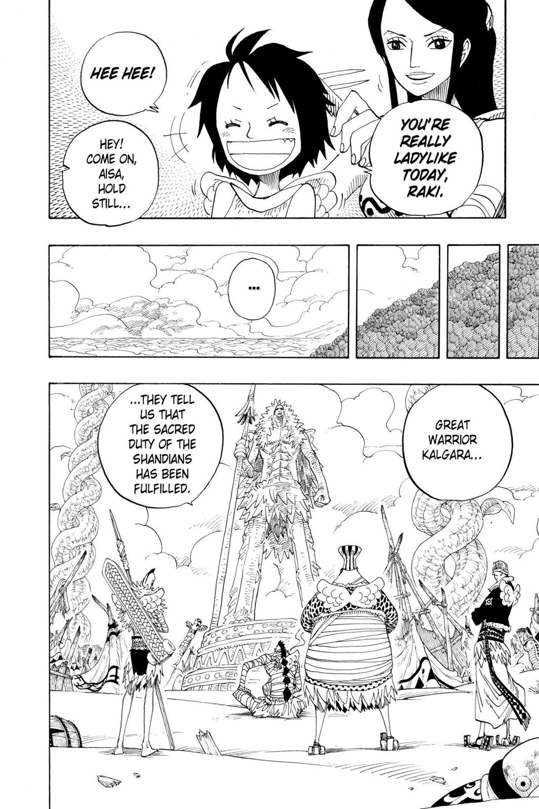 One Piece, Chapter 302 image 004