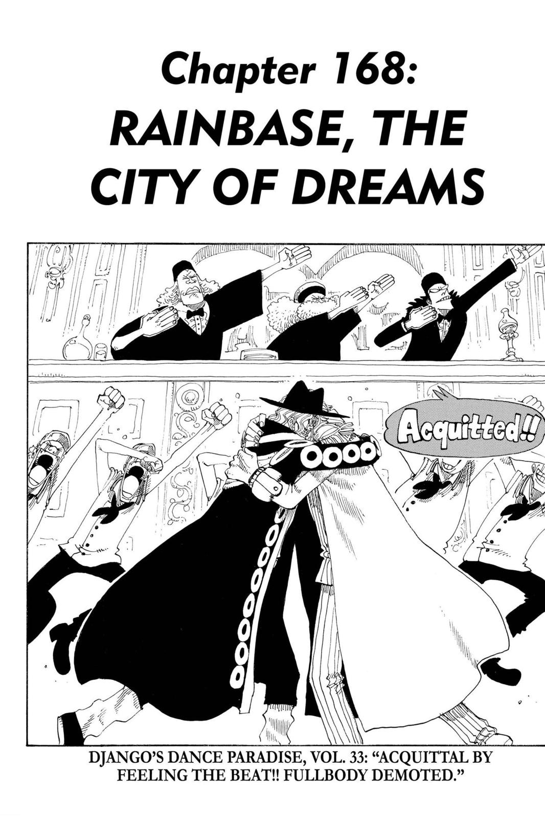 One Piece, Chapter 168 image 001
