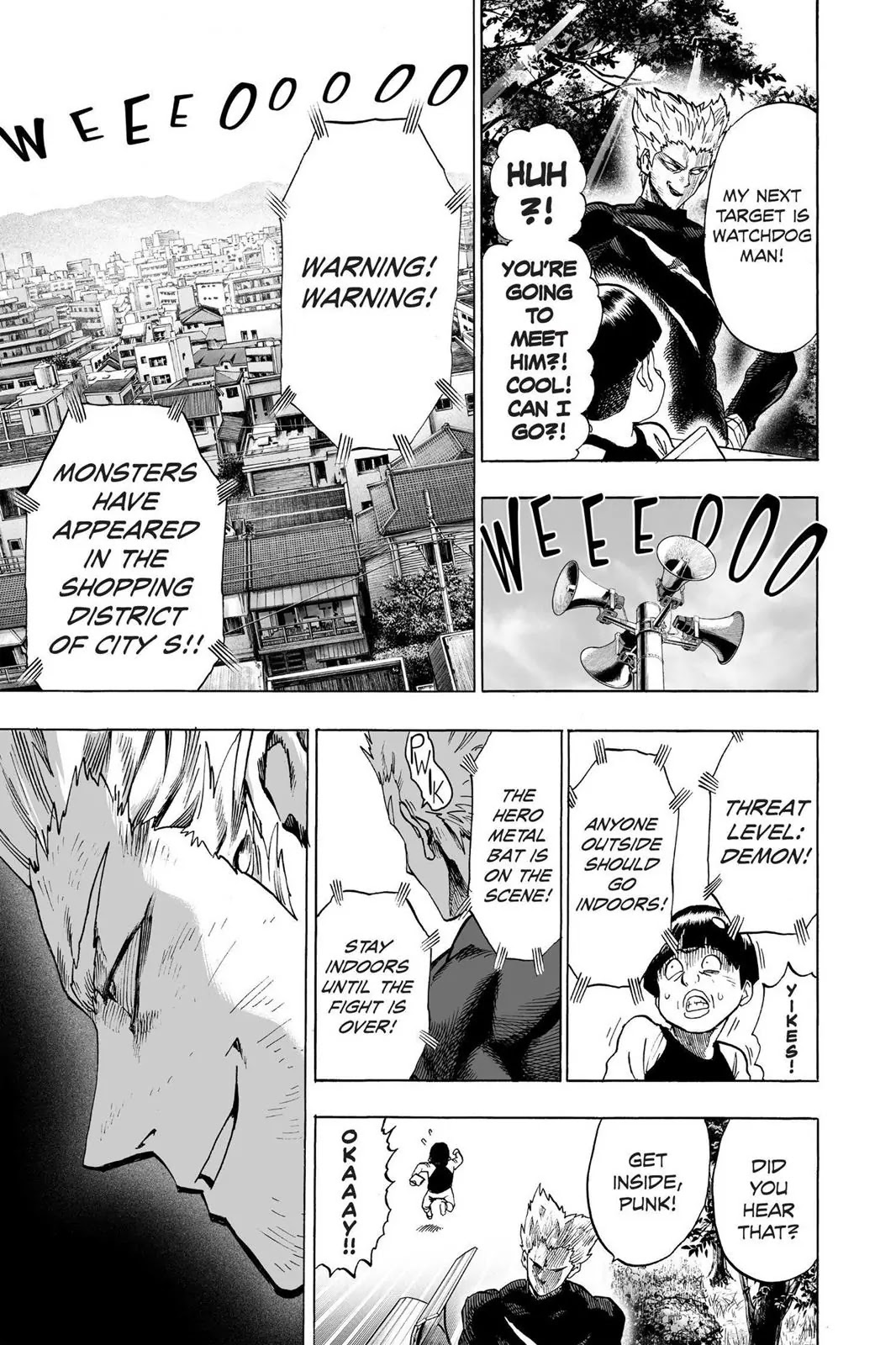 One Punch Man, Chapter Onepunch-Man 54 image 011