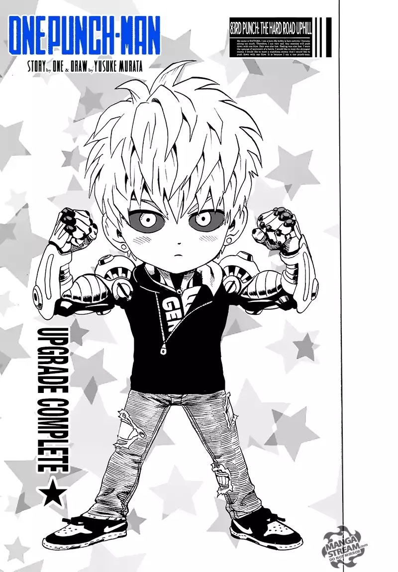 One Punch Man, Chapter Onepunch-Man 83 image 001