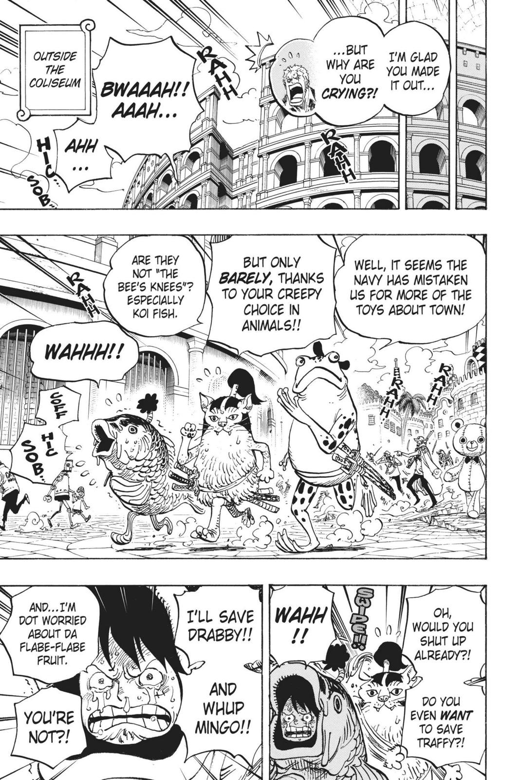 One Piece, Chapter 731 image 017