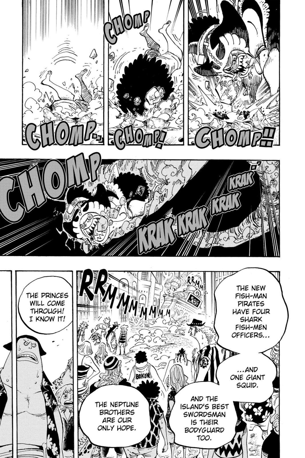 One Piece, Chapter 629 image 016