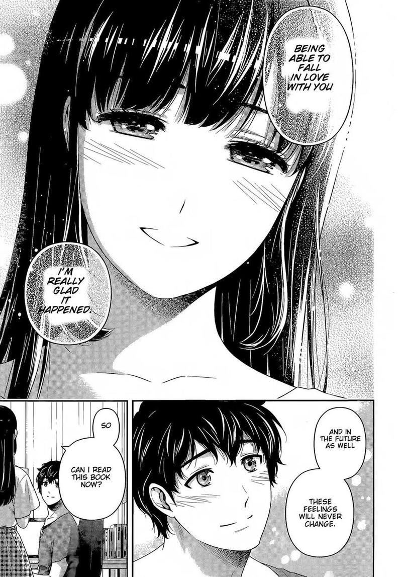 Domestic Na Kanojo, Chapter 277 - Domestic Girlfriend-End image 018