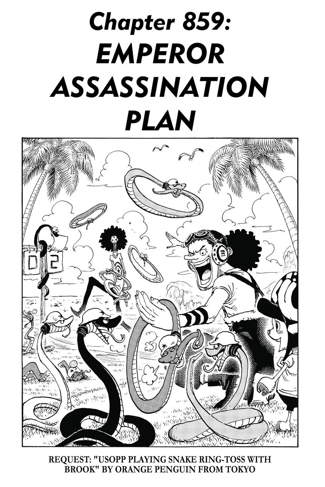 One Piece, Chapter 859 image 007