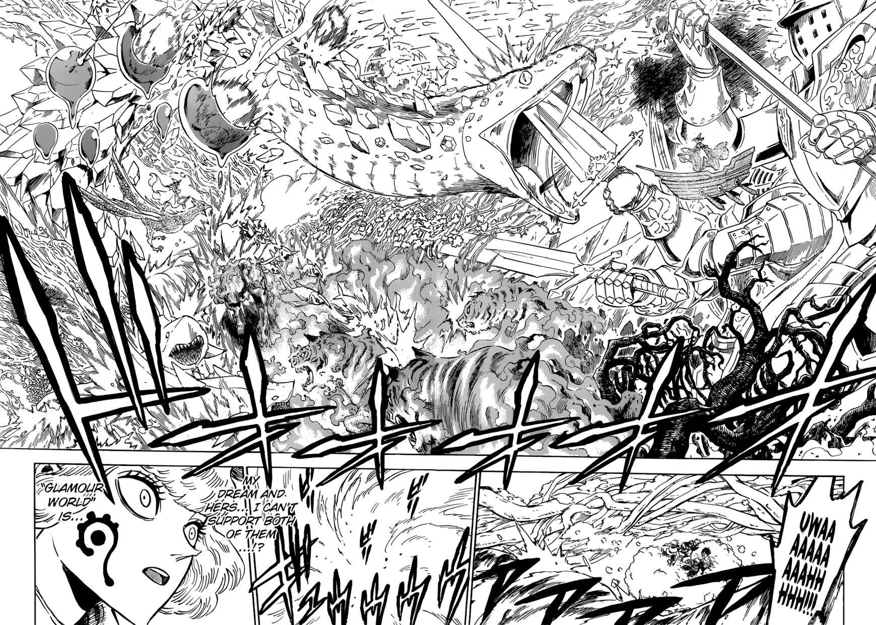 Black Clover, Chapter 185 The Chance Meeting of Dreams image 011
