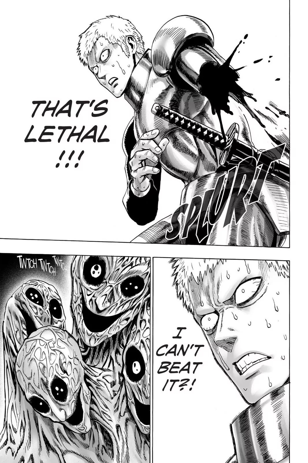 One Punch Man, Chapter Onepunch-Man 32 image 033