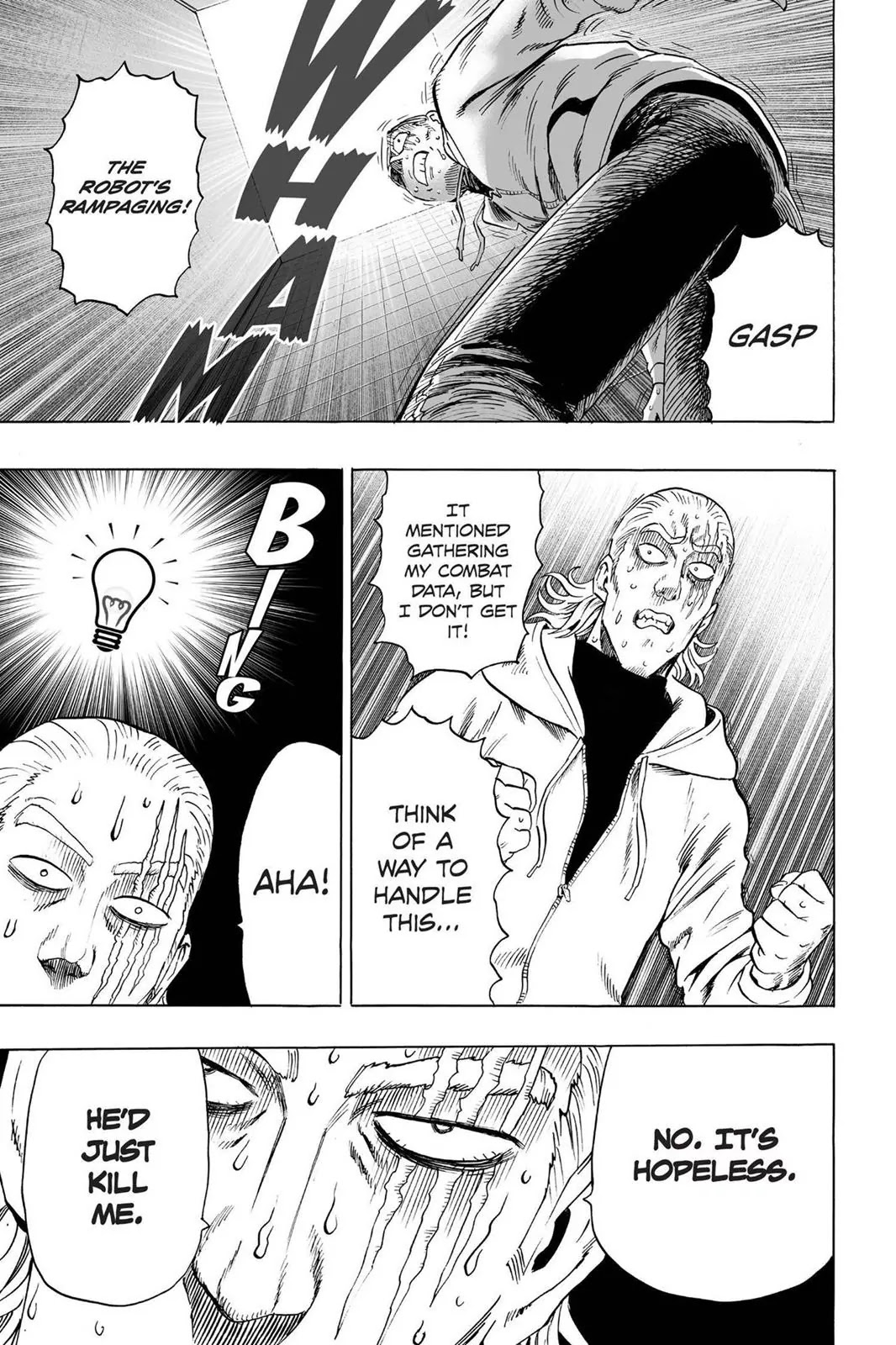 One Punch Man, Chapter Onepunch-Man 38 image 036