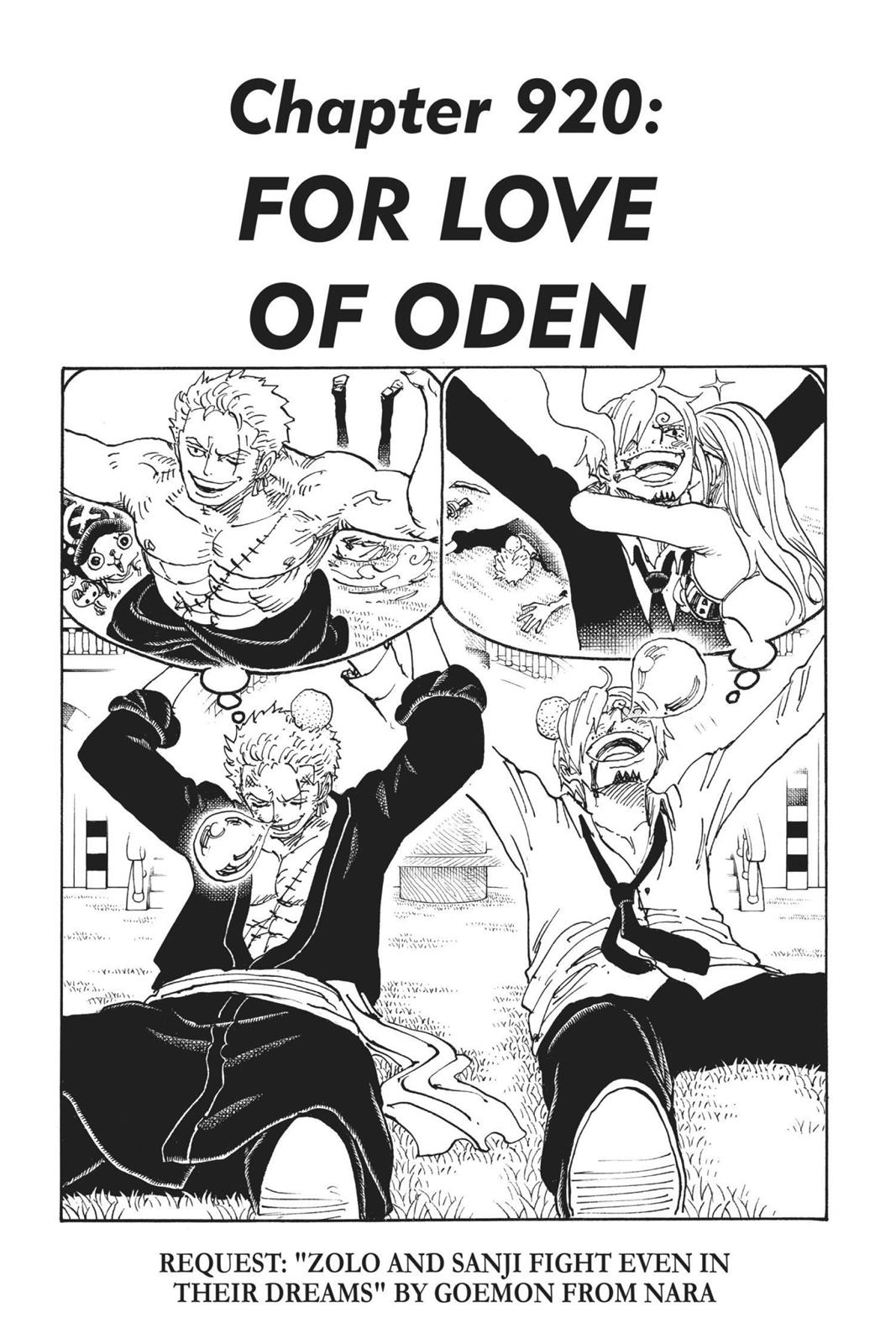 One Piece, Chapter 920 image 001