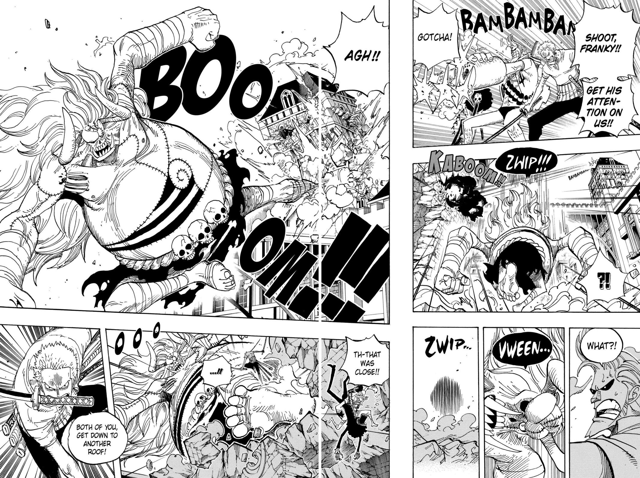 One Piece, Chapter 470 image 009