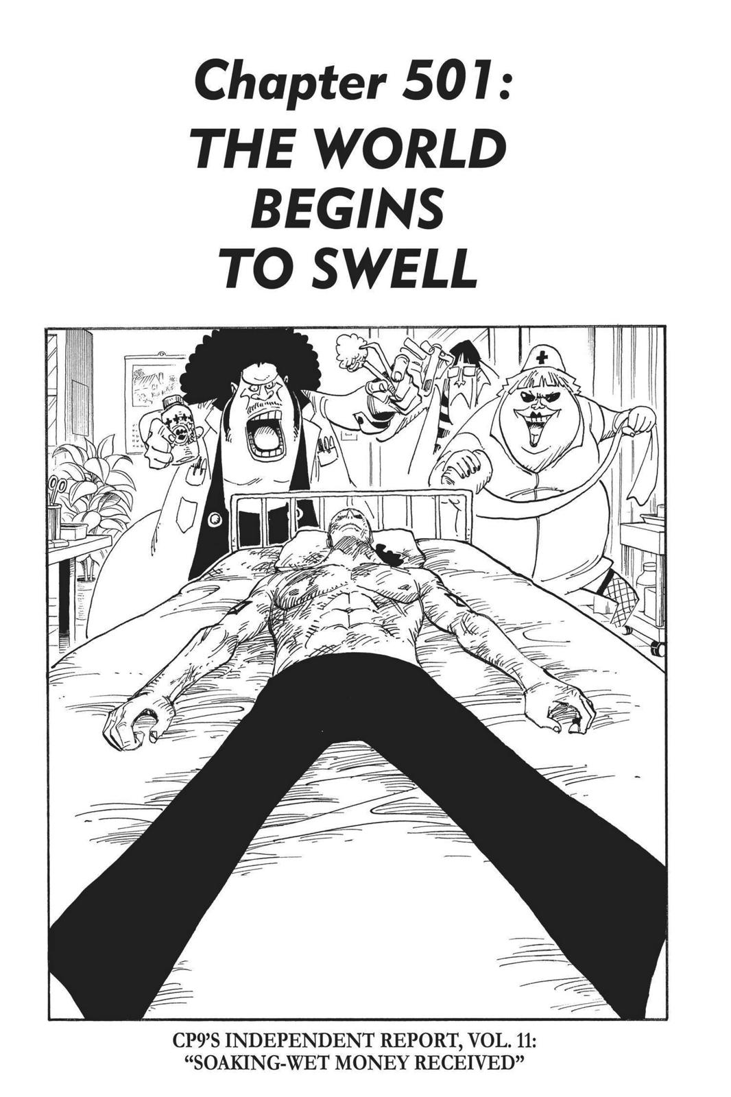 One Piece, Chapter 501 image 001