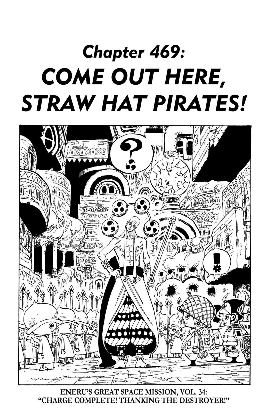 One Piece, Chapter 469 image 001