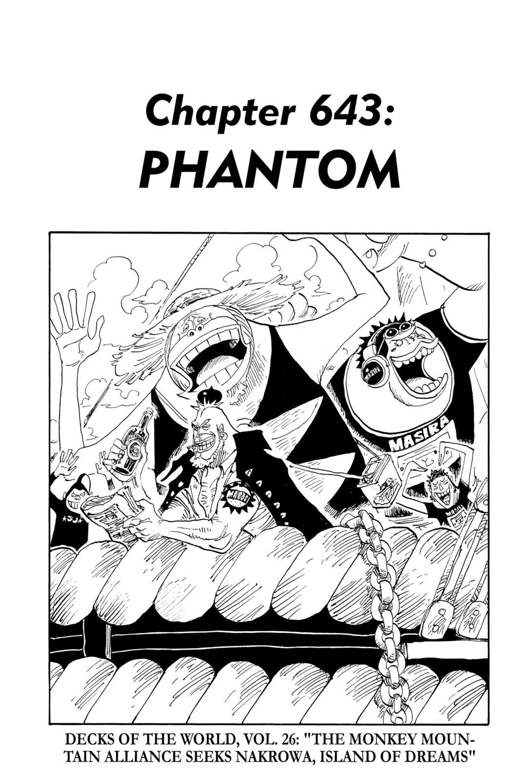 One Piece, Chapter 643 image 001