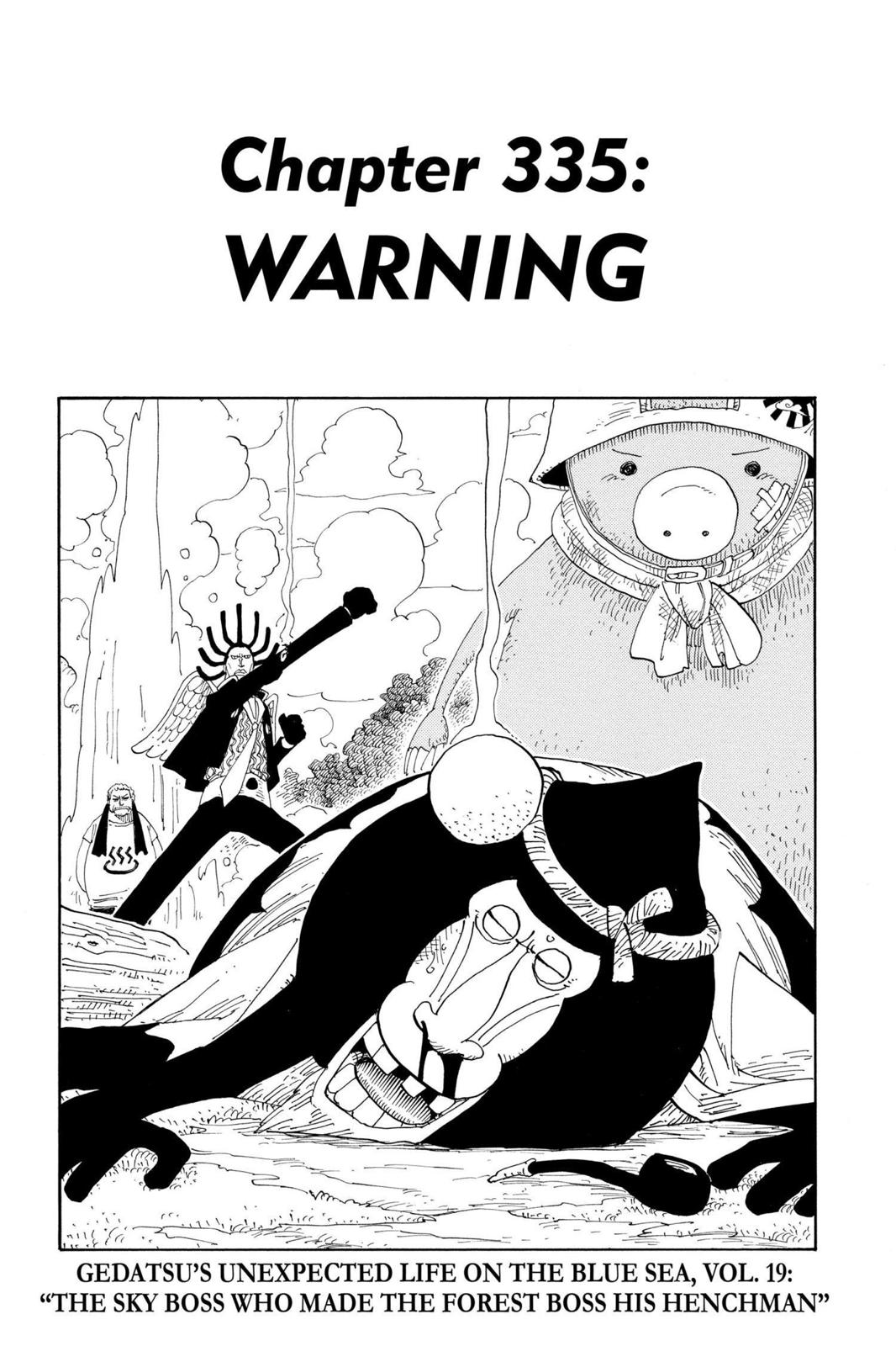One Piece, Chapter 335 image 001