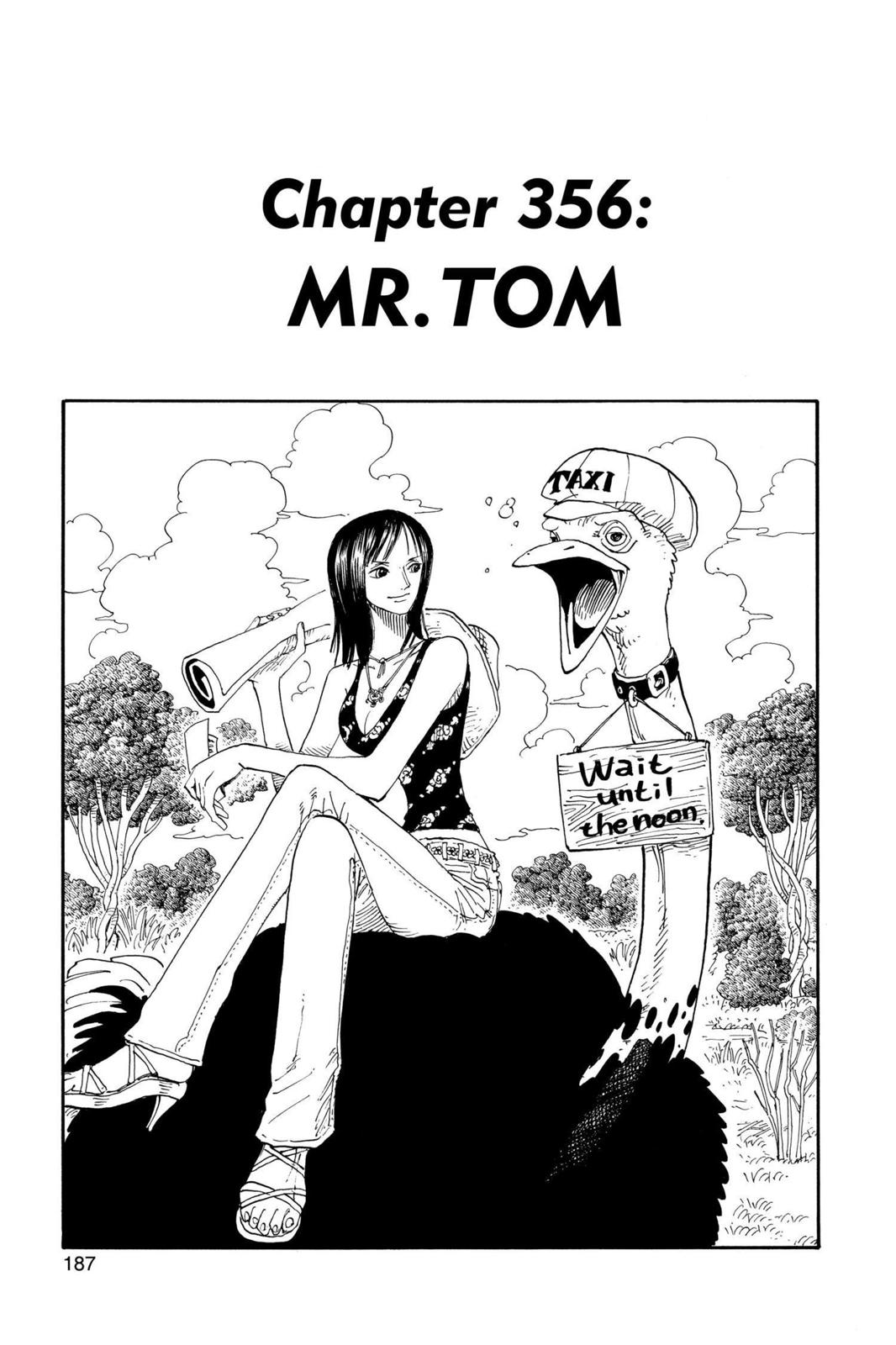 One Piece, Chapter 356 image 001