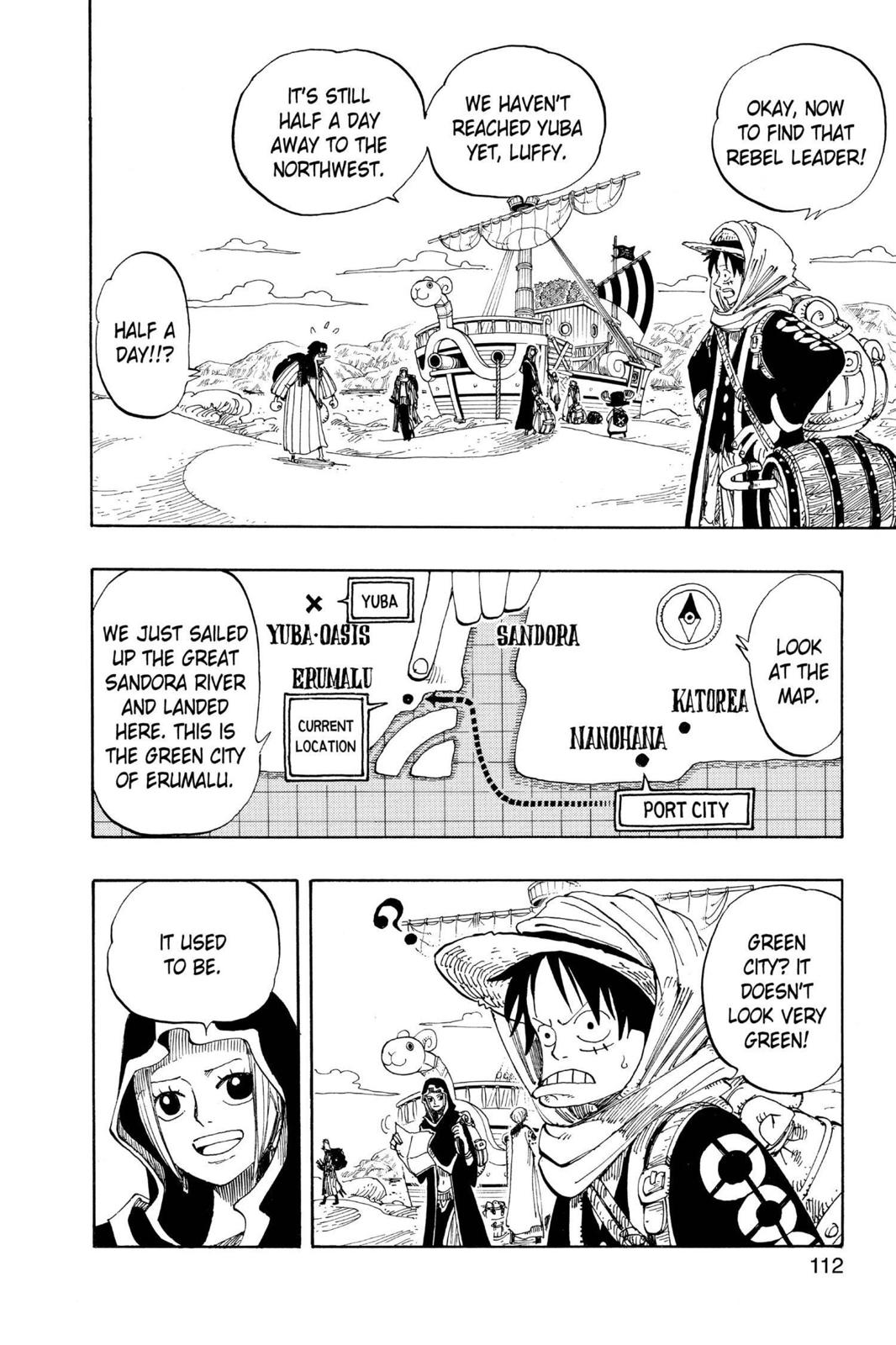 One Piece, Chapter 161 image 005