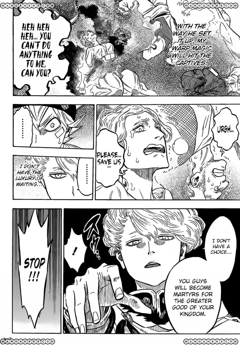 Black Clover, Chapter 78 The Weak's Proclamation image 011