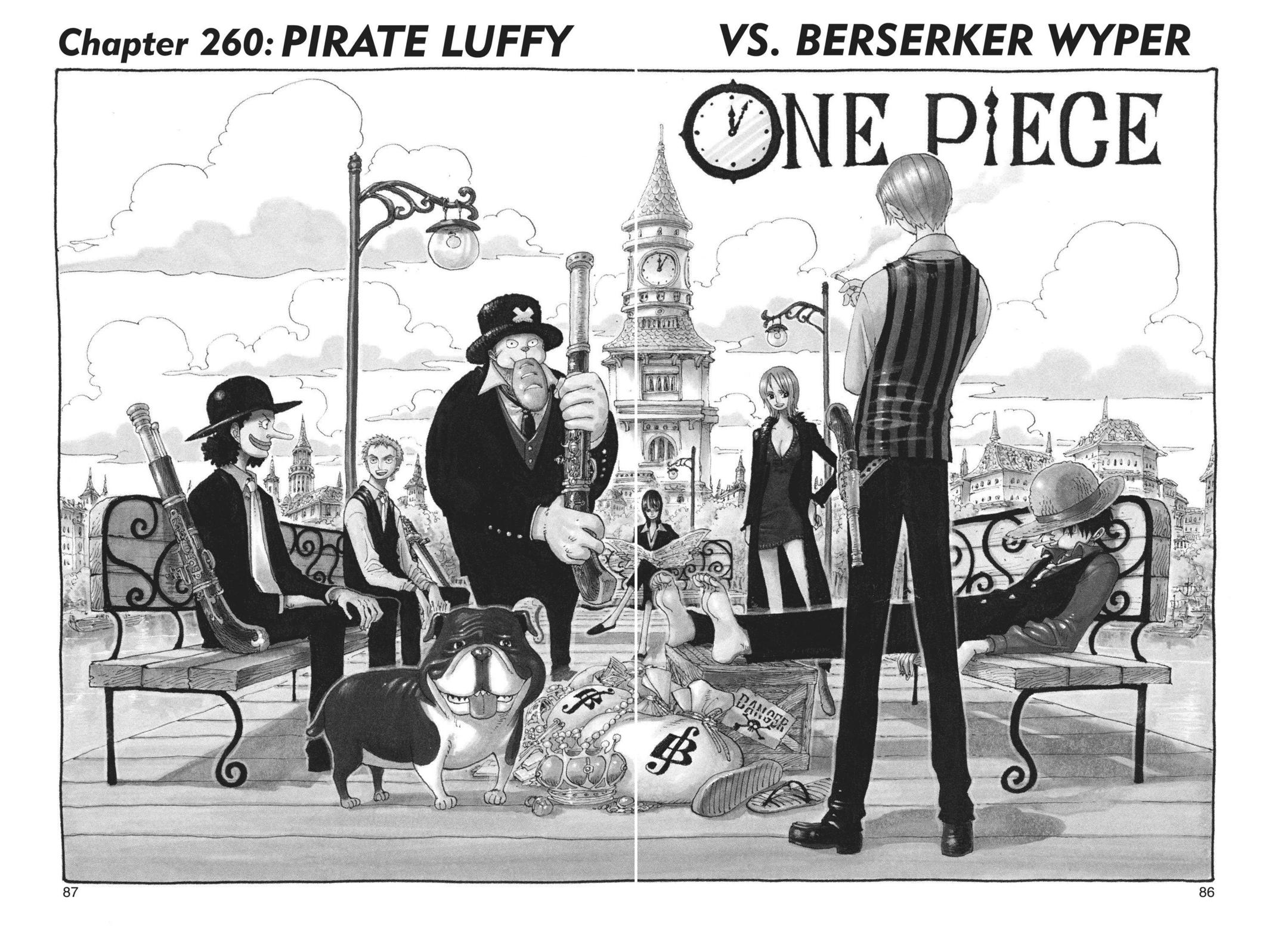 One Piece, Chapter 260 image 001
