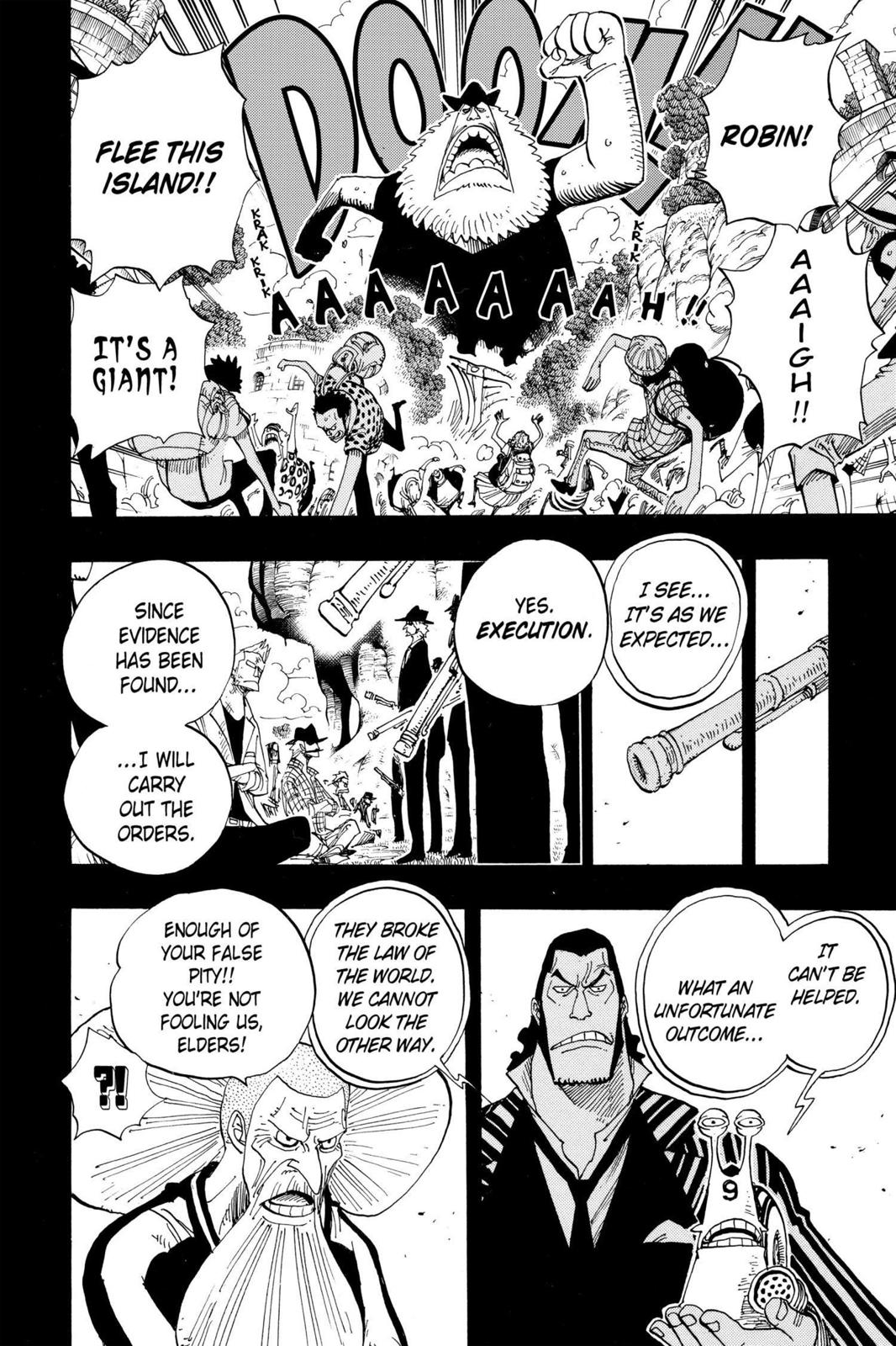 One Piece, Chapter 395 image 004