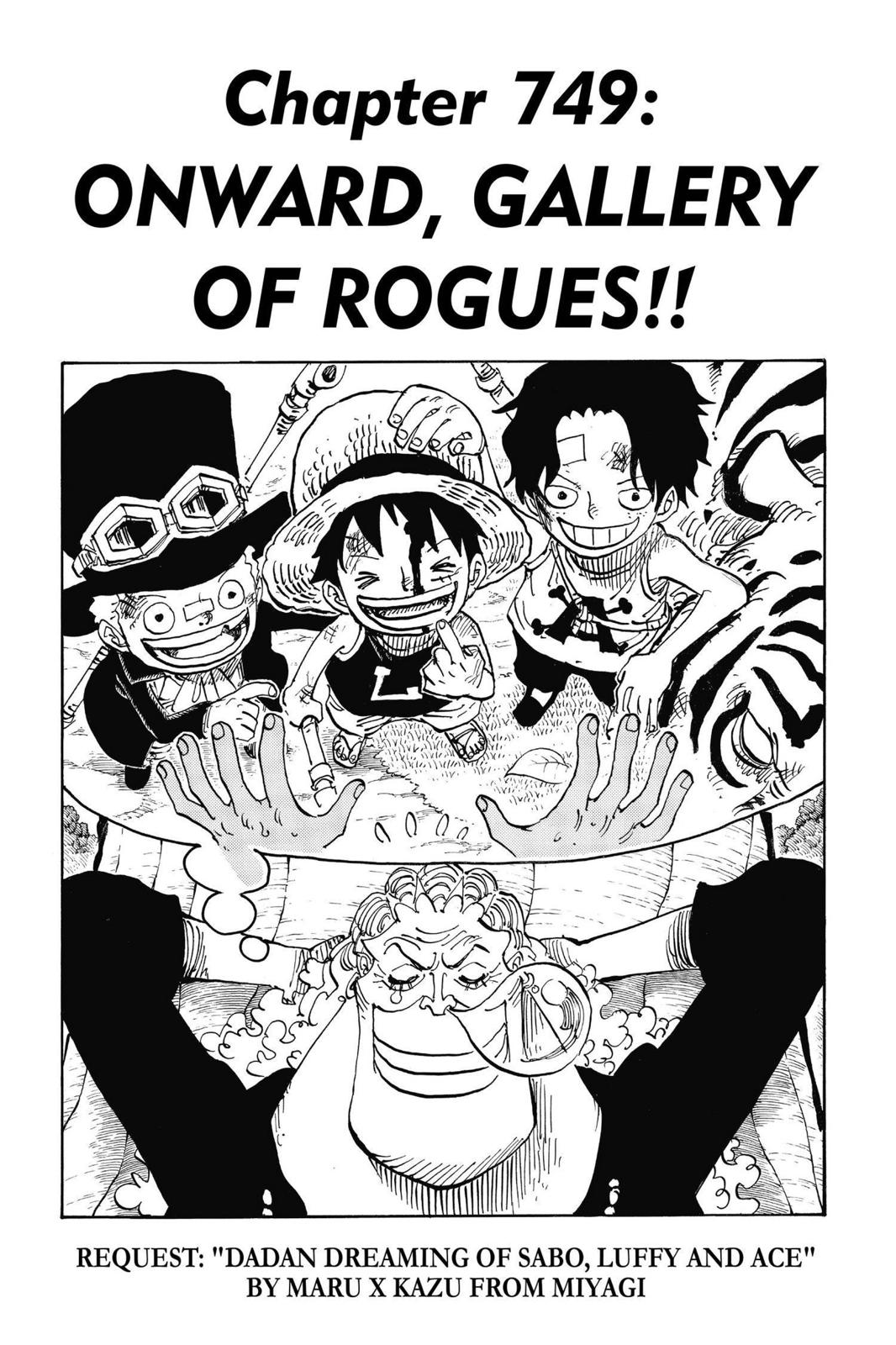 One Piece, Chapter 749 image 001