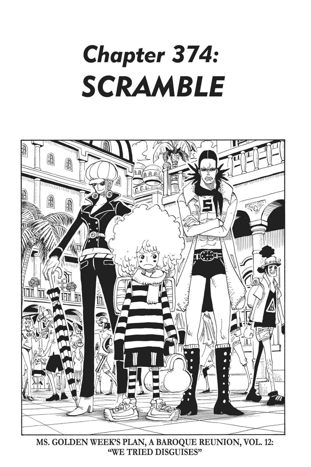 One Piece, Chapter 374 image 001