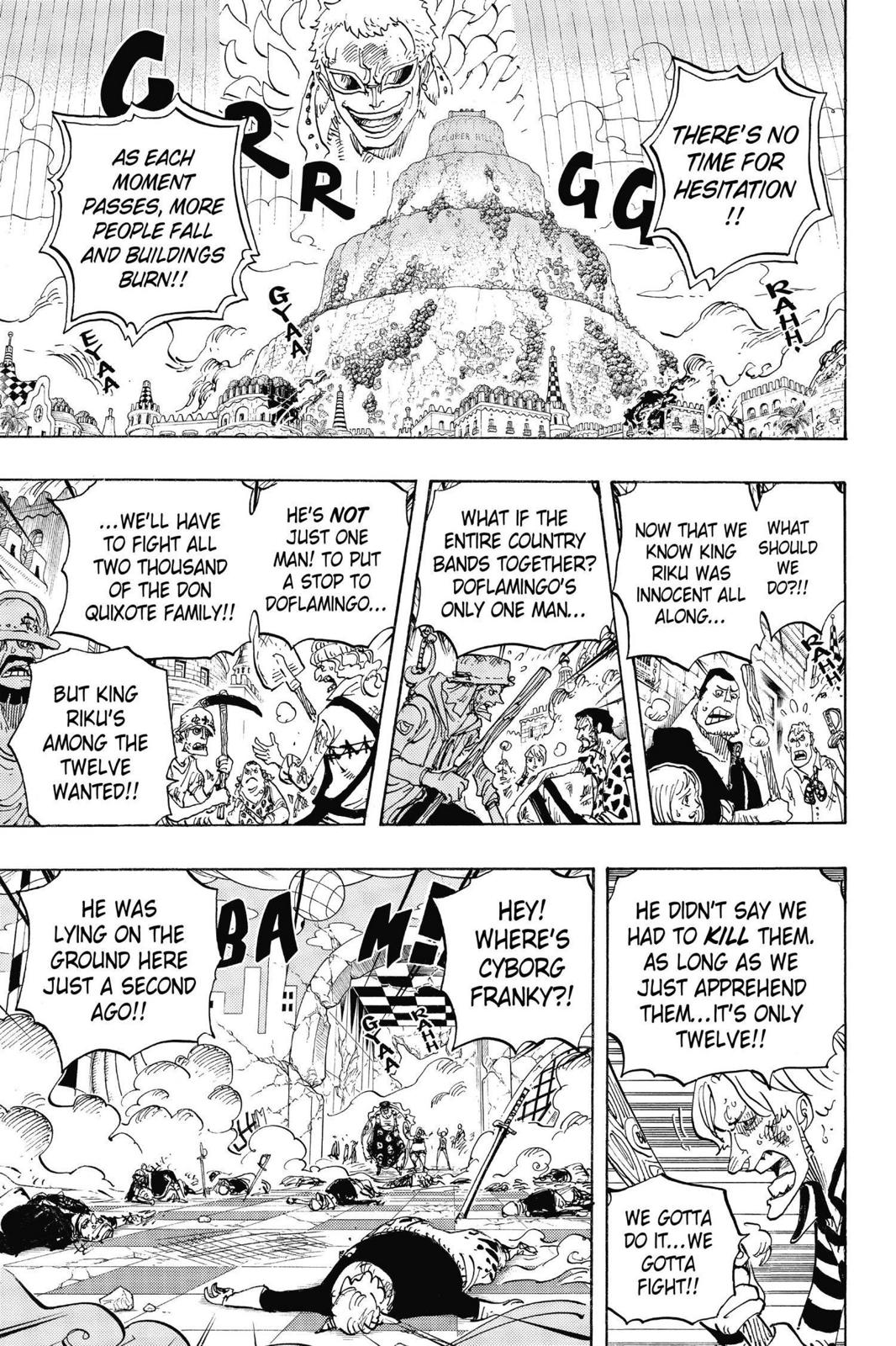 One Piece, Chapter 746 image 012