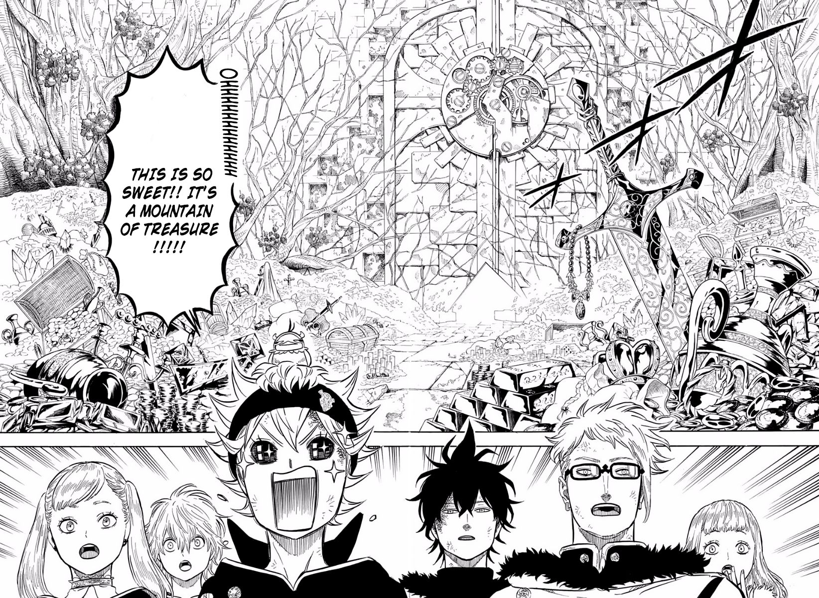 Black Clover, Chapter 18 In the Depths of The Treasure Room image 004
