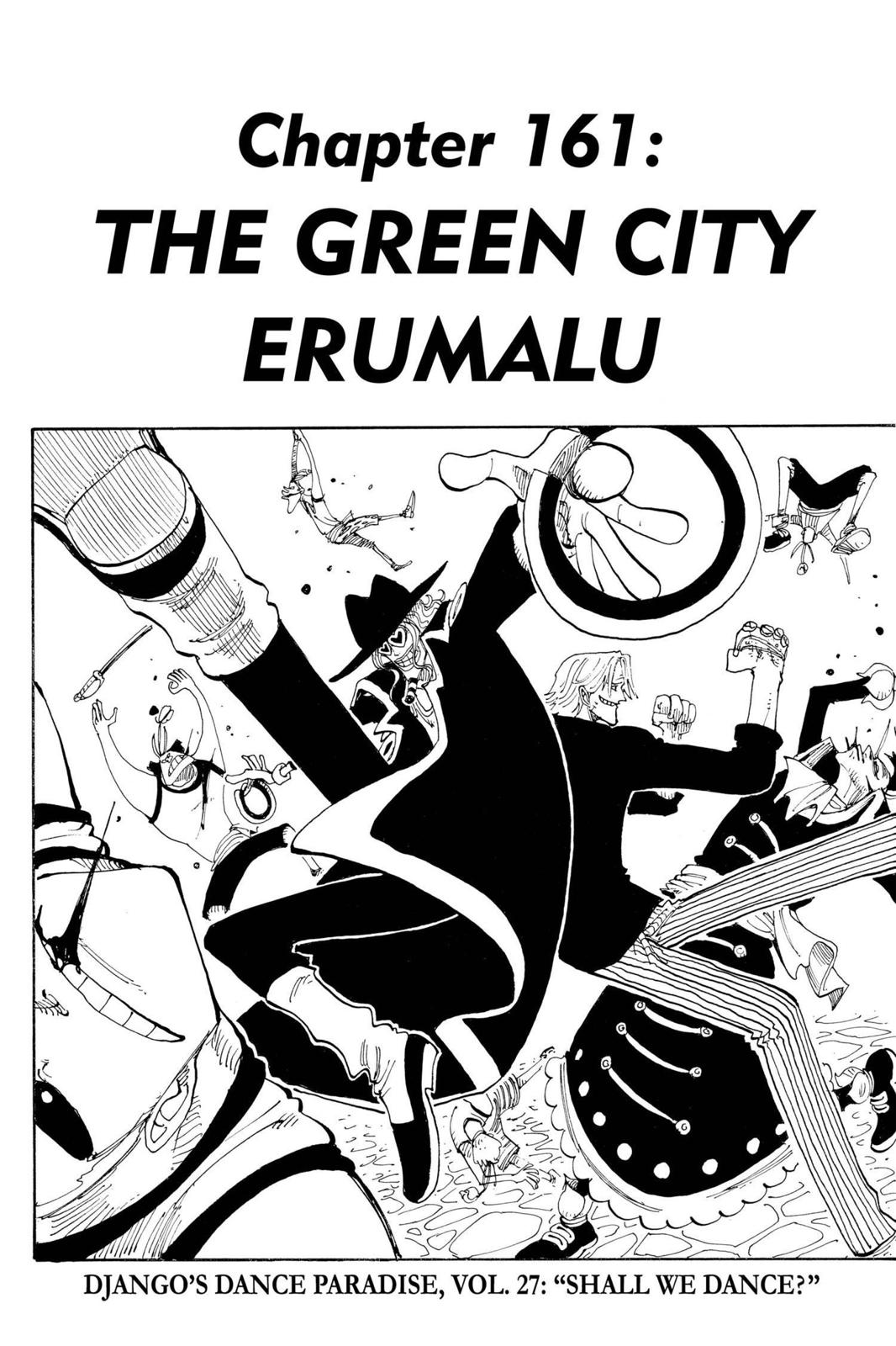 One Piece, Chapter 161 image 001