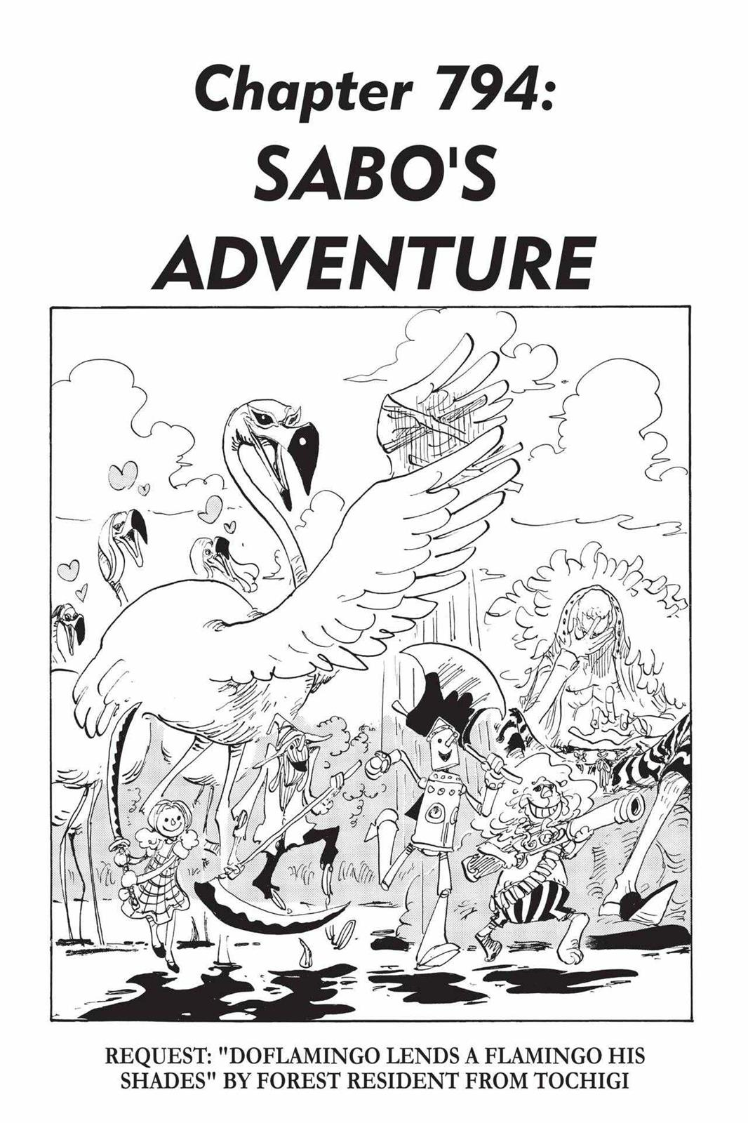 One Piece, Chapter 794 image 001