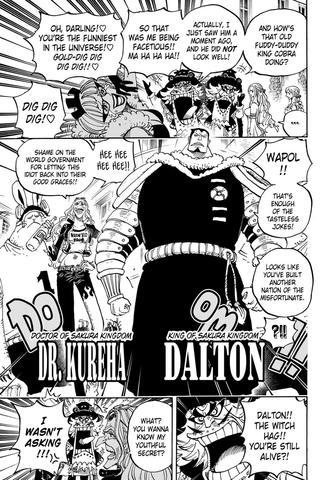 One Piece, Chapter 906 image 013