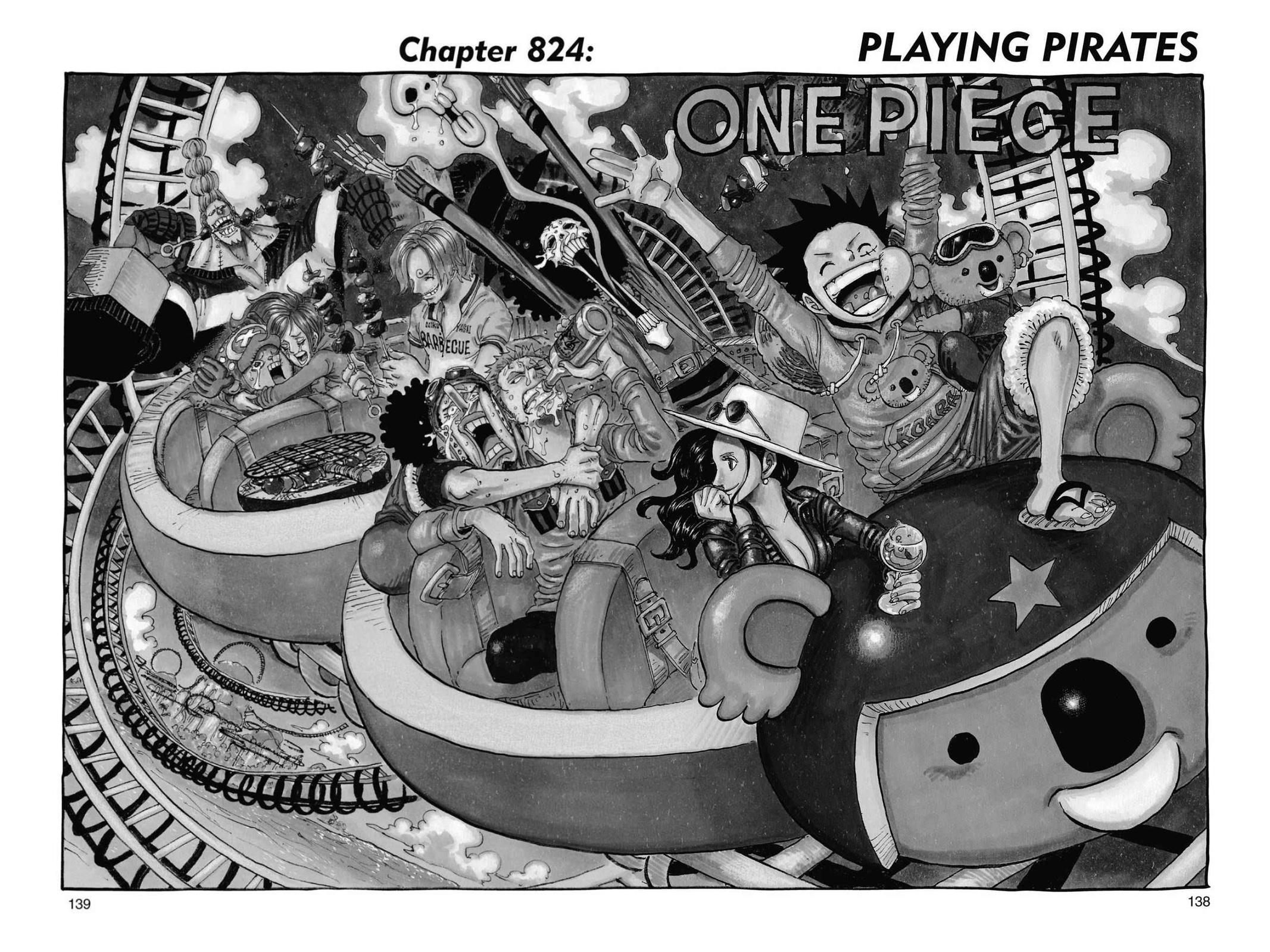 One Piece, Chapter 824 image 001