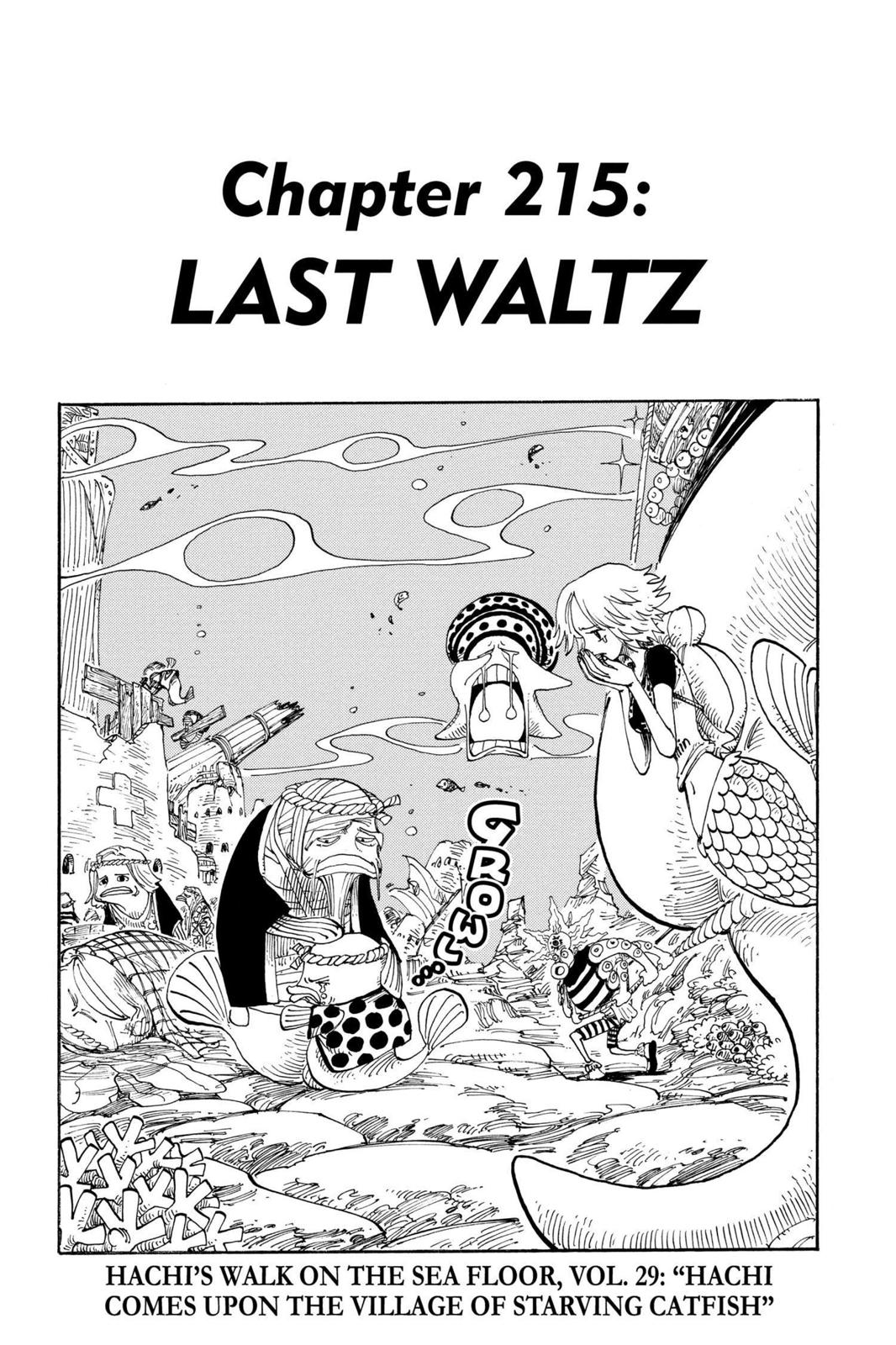 One Piece, Chapter 215 image 001