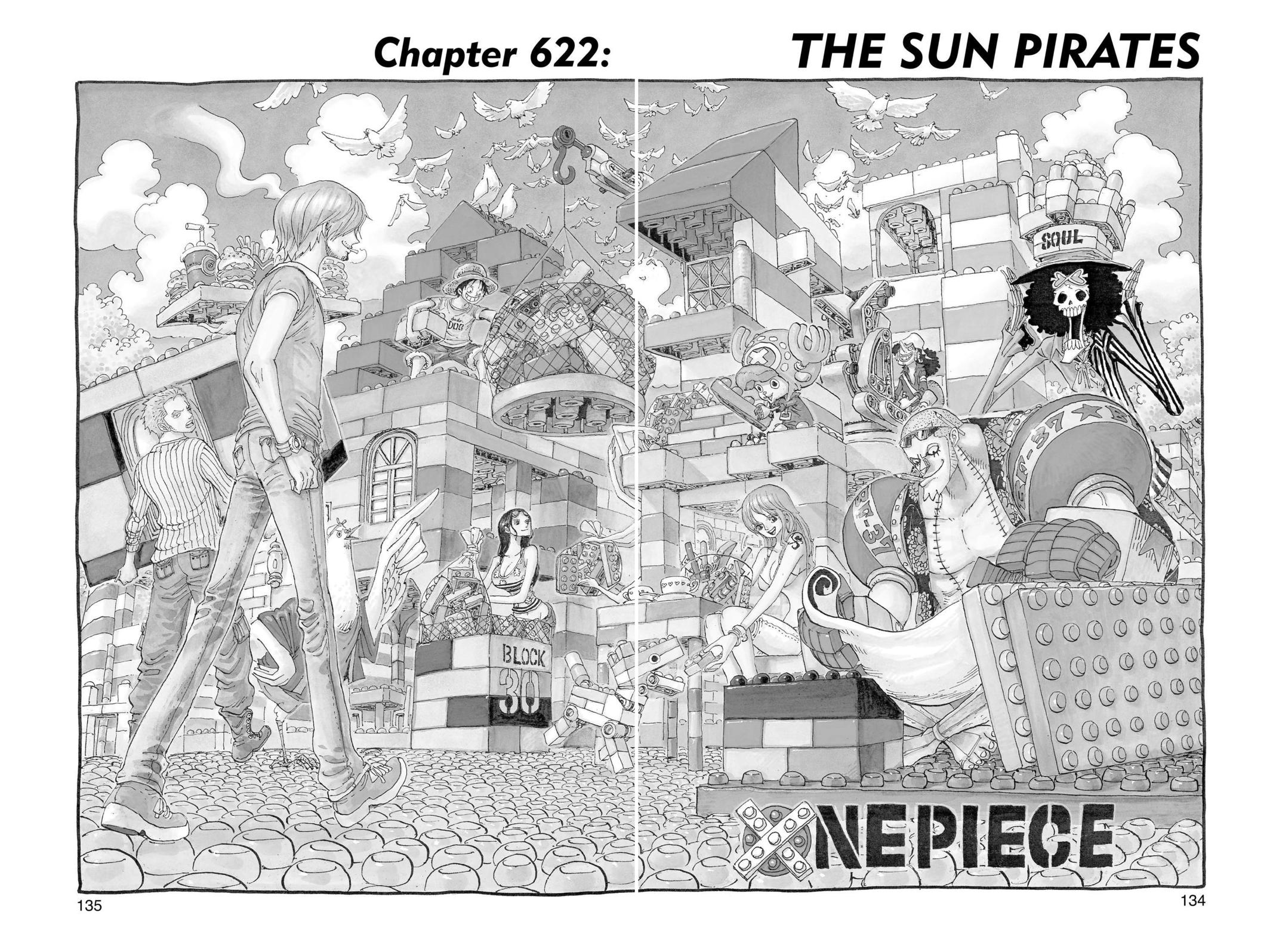 One Piece, Chapter 622 image 001