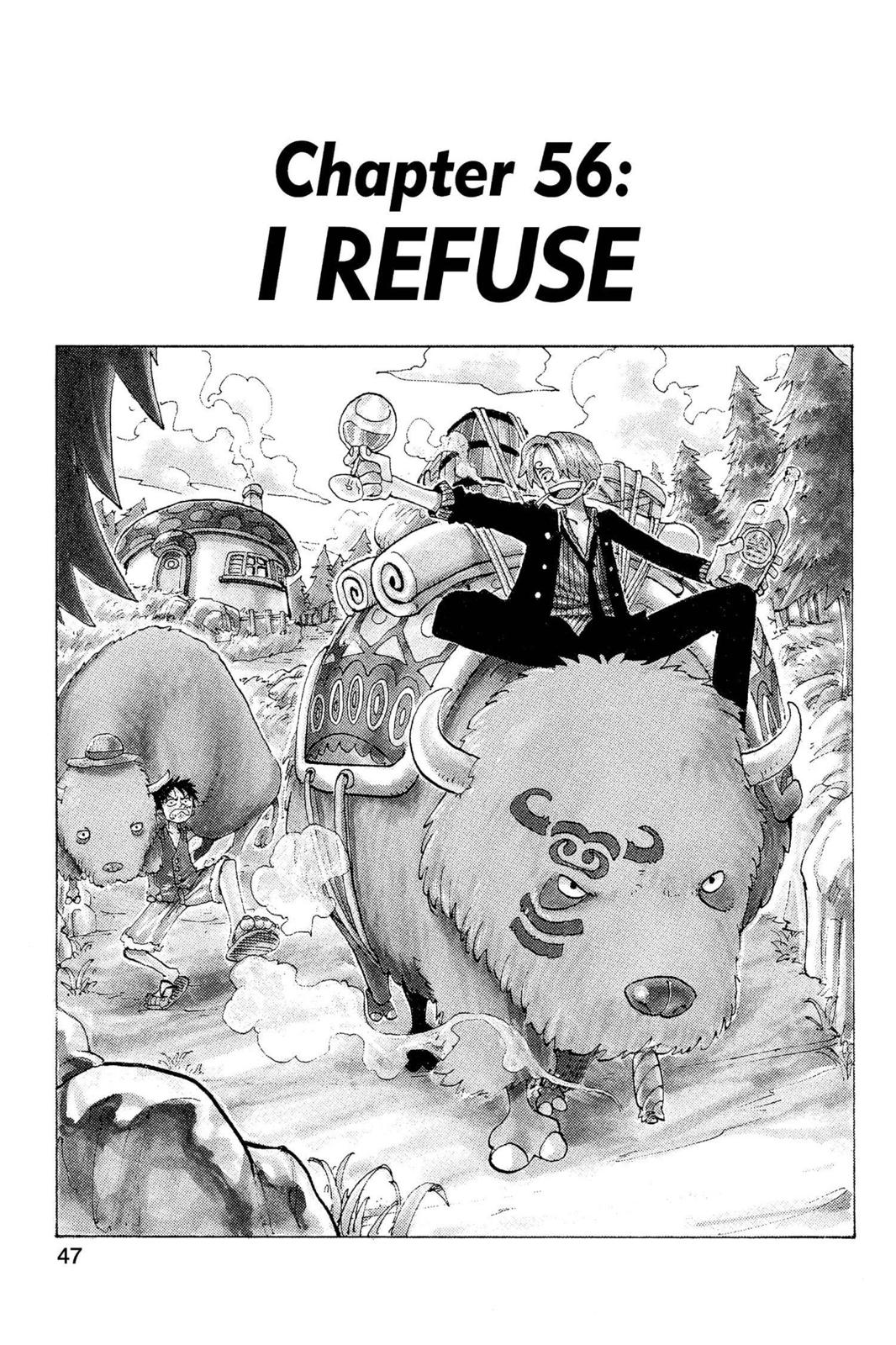 One Piece, Chapter 56 image 001