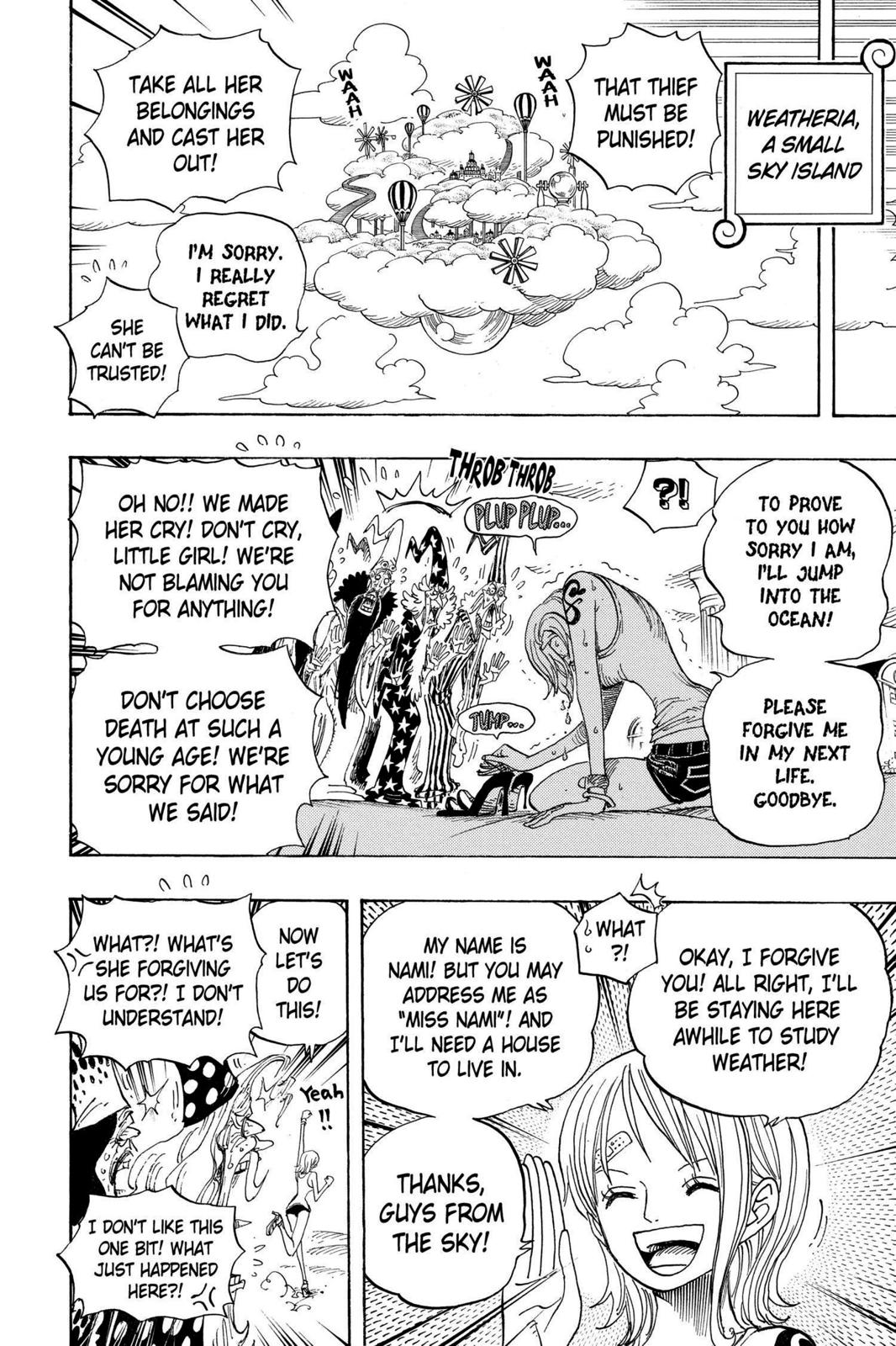 One Piece, Chapter 596 image 002