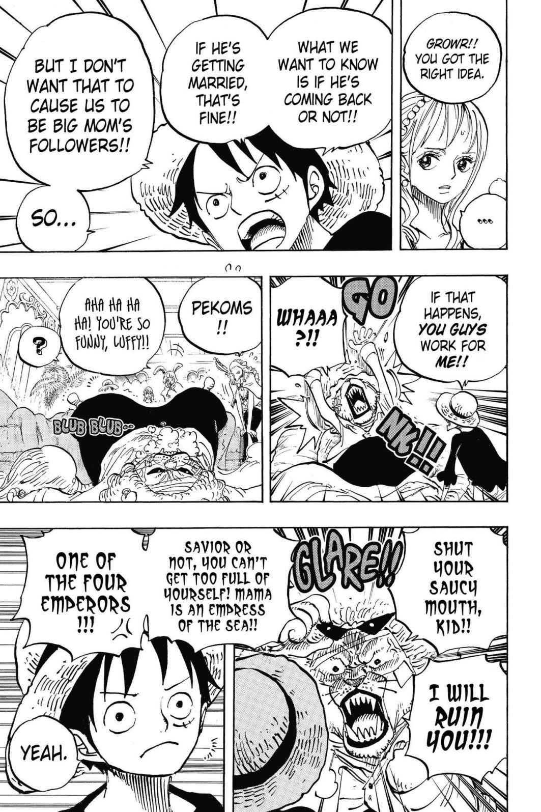 One Piece, Chapter 815 image 003