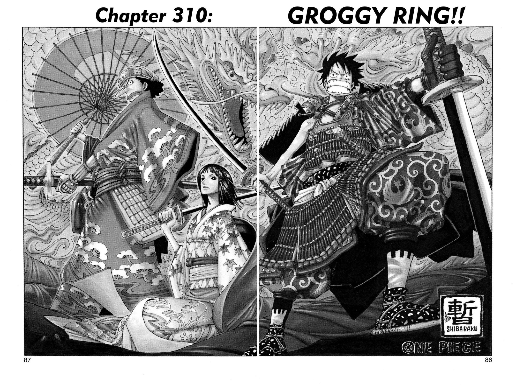 One Piece, Chapter 310 image 001