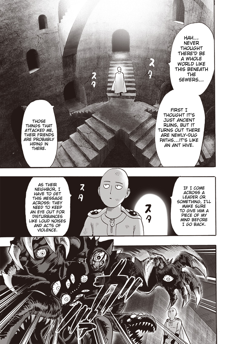 One Punch Man, Chapter One-Punch Man 115 image 011