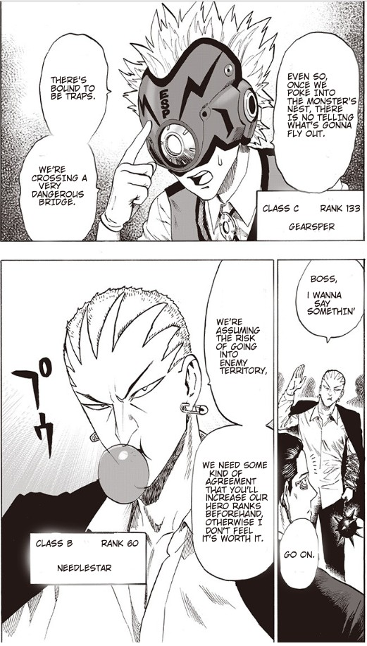 One Punch Man, Chapter Onepunch-Man 93 image 039