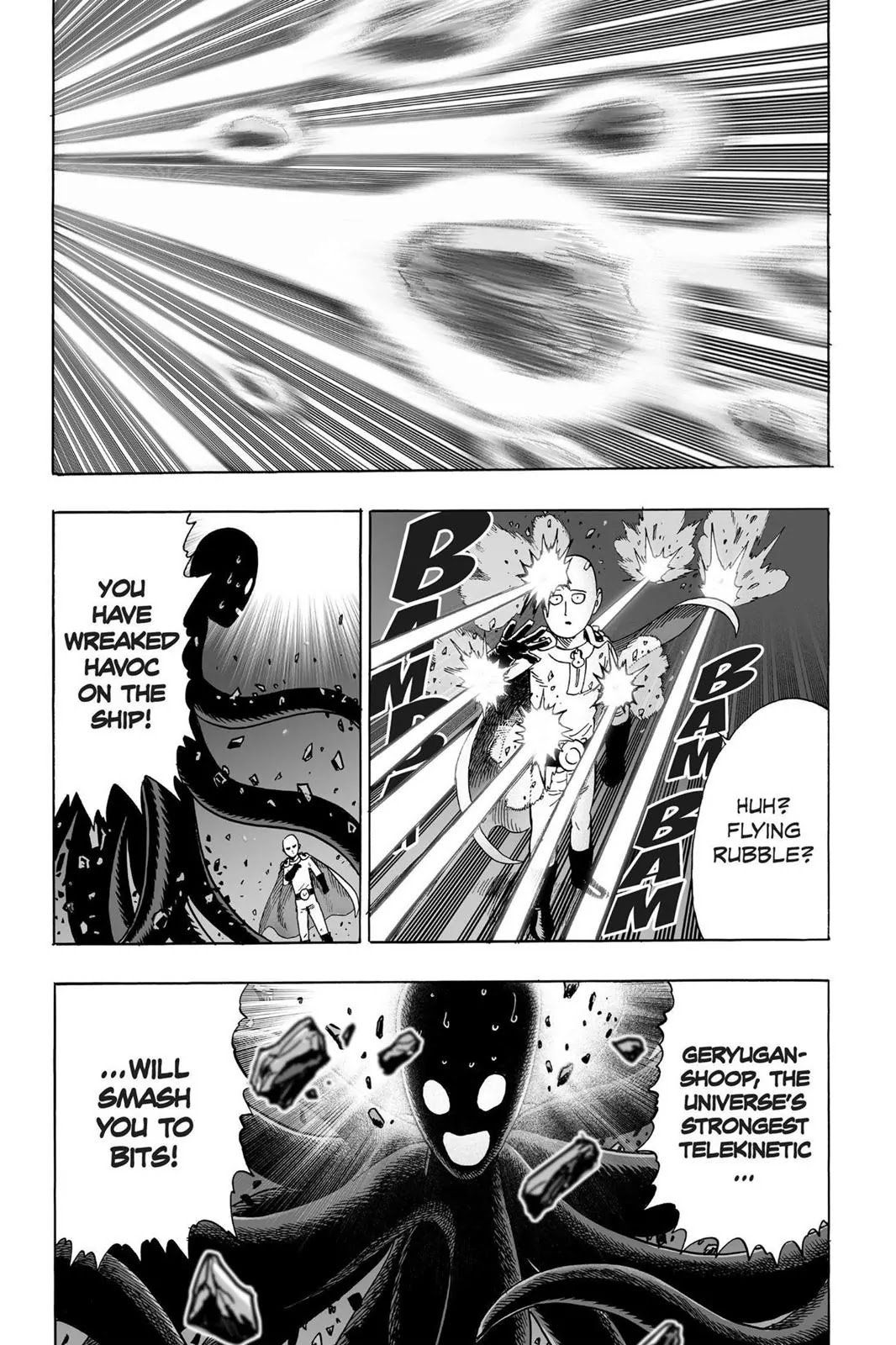 One Punch Man, Chapter Onepunch-Man 33 image 028