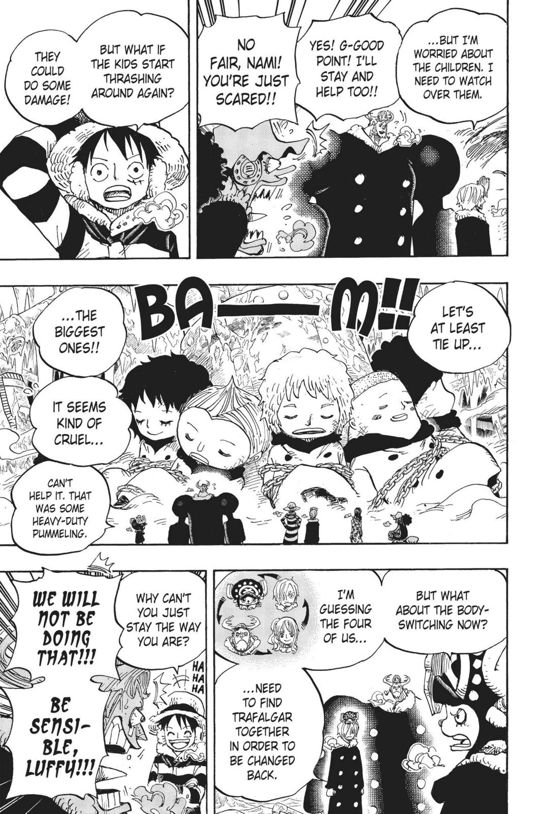 One Piece, Chapter 665 image 015