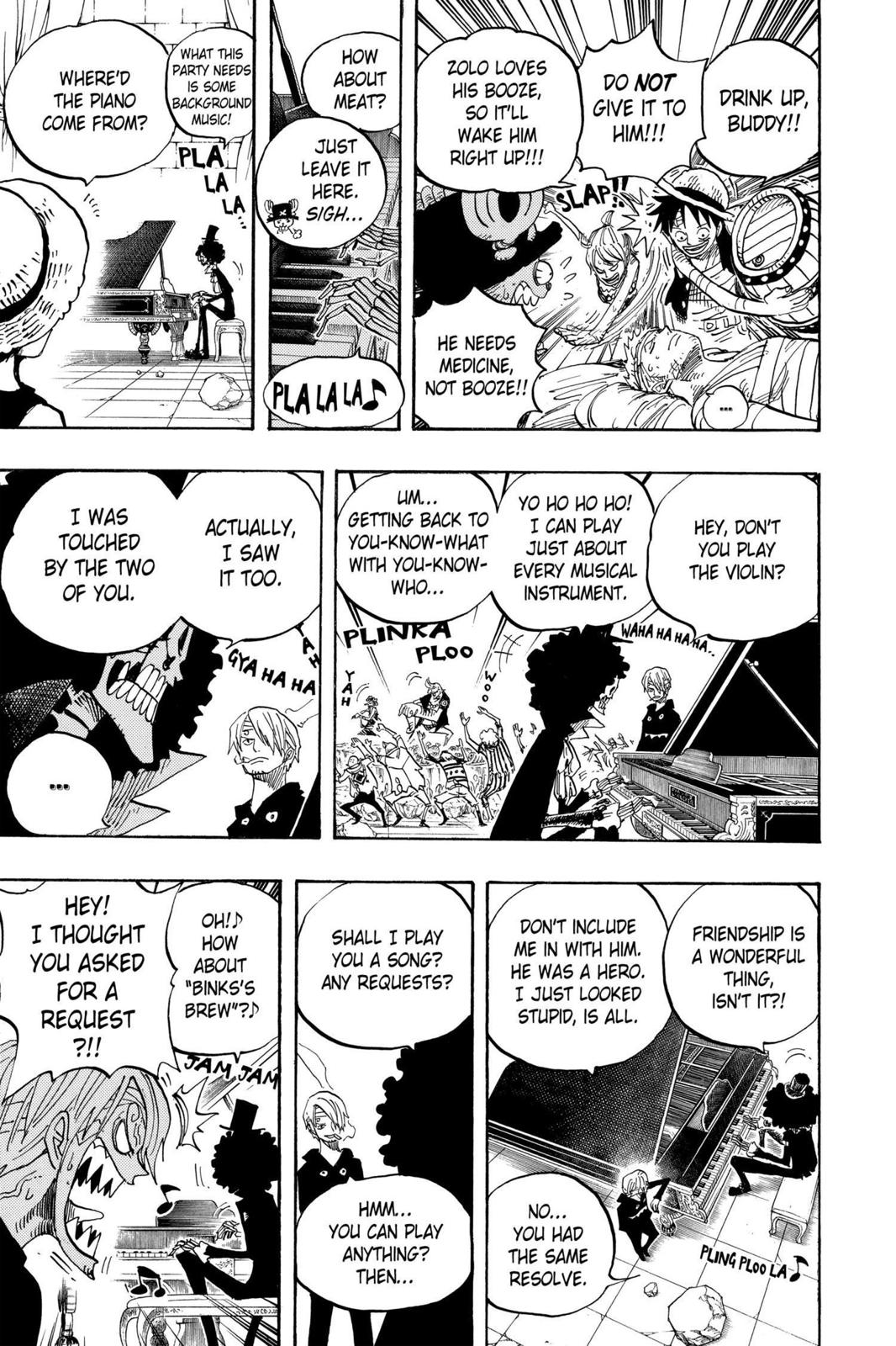 One Piece, Chapter 486 image 013