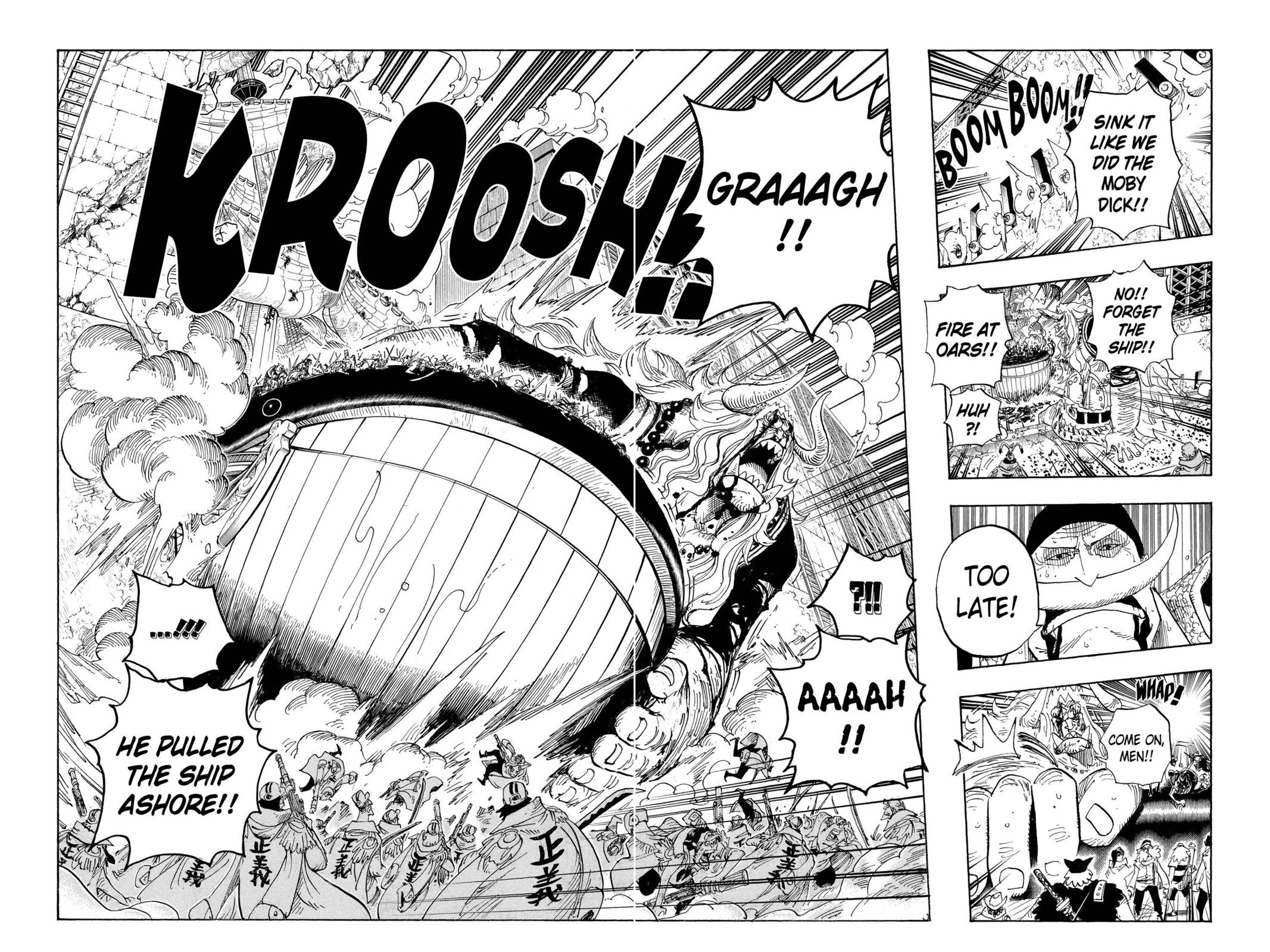 One Piece, Chapter 566 image 011